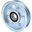 Phoenix Flat Idler Pulley Wheel — 3 1/4in. Dia., 3/4in. Wide The price is $17.99.