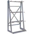 West Vertical Storage Rack – 37in.W x 25in.D x 71in.H, Model# 1238 The price is $179.99.