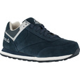 Reebok Work Men's Leelap Steel Toe Oxford Shoes — Navy, Size 9 1/2 Wide, Model# RB1975 The price is $76.99.