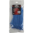 Ironton Multi-Pack of Cable Ties — 100-Pk., 7in.L x .142in.W, 40-Lb. Capacity, Blue The price is $3.99.
