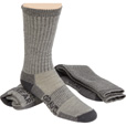 FREE SHIPPING - Gravel Gear Men's Premium Merino Wool Midweight Boot Socks - 2 Pairs, Charcoal, 13in. Boot Length The price is $19.59.