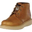 Georgia Men's Farm & Ranch Chukka Work Boots - Barracuda Gold, Size 8 1/2 Wide, Model# GB1222 The price is $124.99.