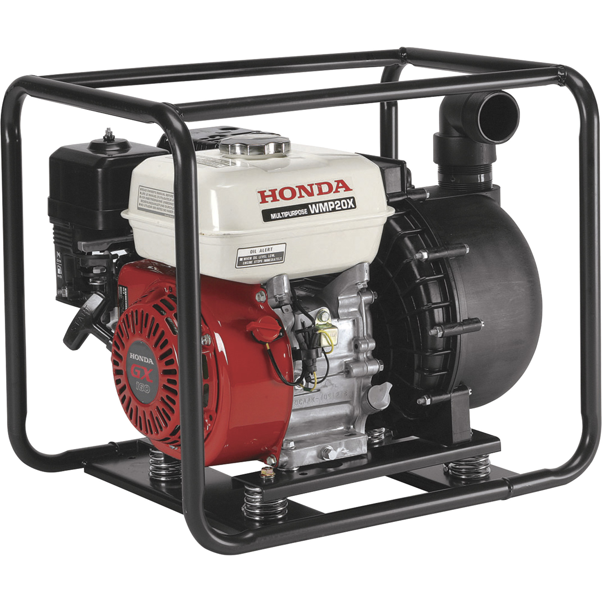 honda self priming chemical water pump 13 200 gph 2in