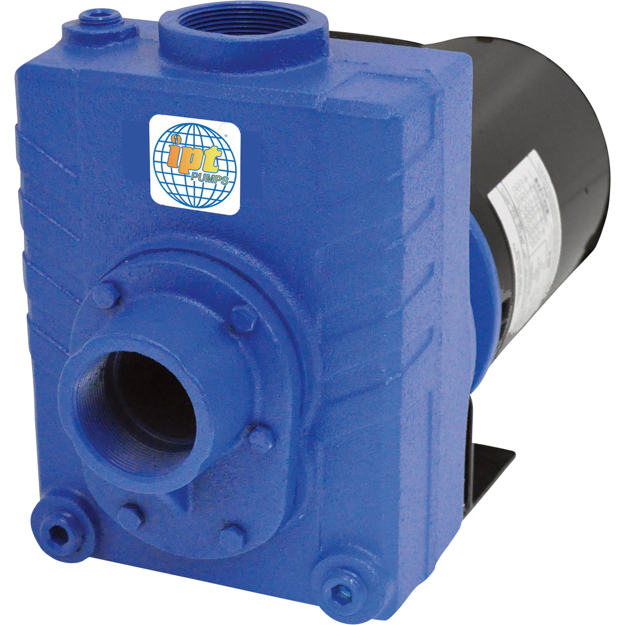be67bae4ef3 IPT Cast Iron Self-Priming Centrifugal Water Pump — 125 GPM