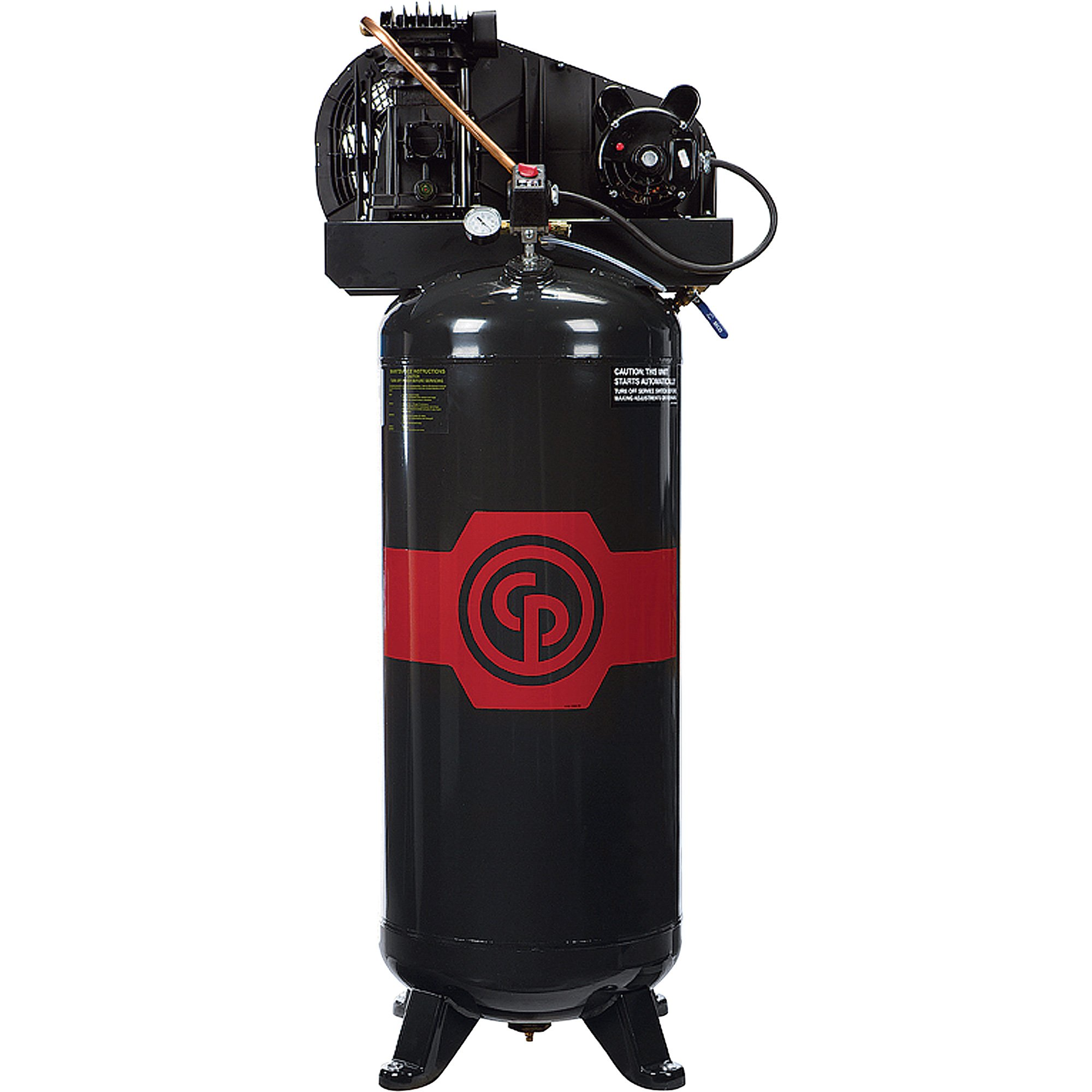 shipping chicago pneumatic reciprocating air compressor shipping chicago pneumatic reciprocating air compressor 3 5 hp 60 gallon 208
