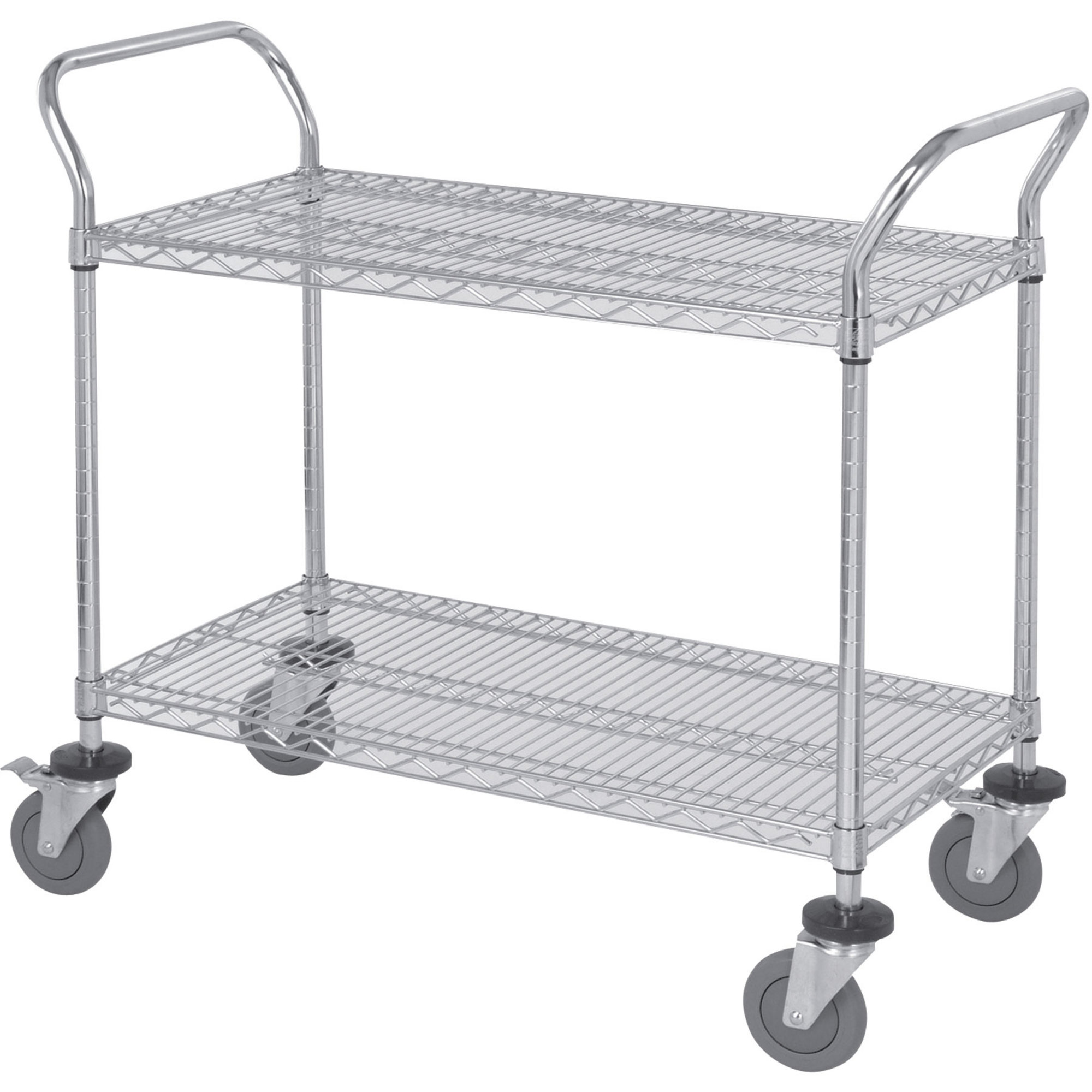 Wire cart with wheels