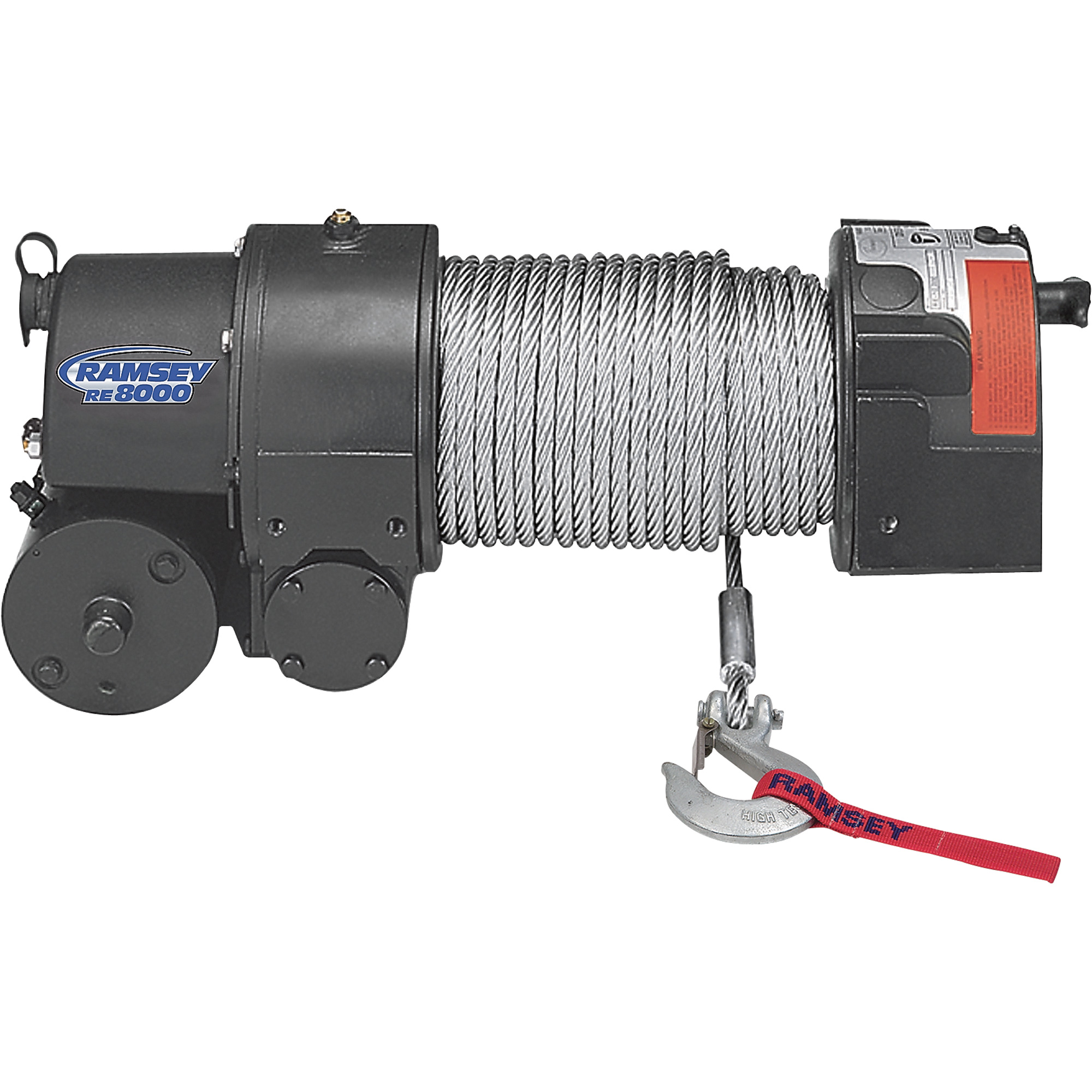 8000 11900 Lb Capacity Winches Northern Tool Equipment Warn Winch Solenoid Wiring Diagram Ramsey Rep8000 Advantage Exclusive 12 Volt Dc Powered Electric Front Mount Truck