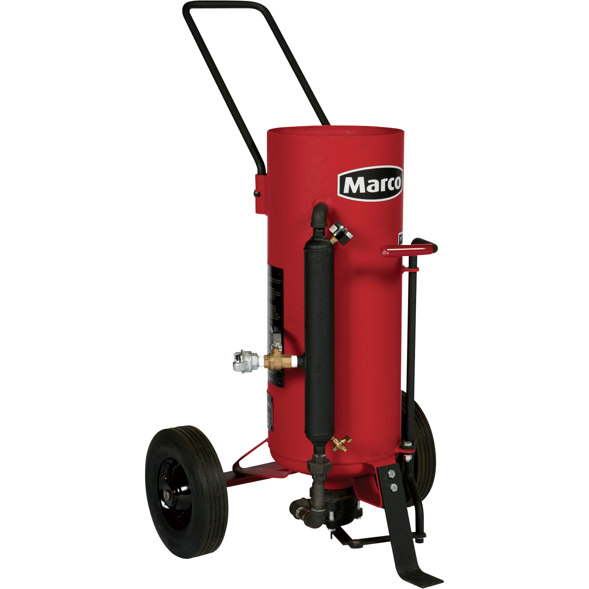FREE SHIPPING — Marco Air-Blast Abrasive Blasting Package — 150-Lb ...