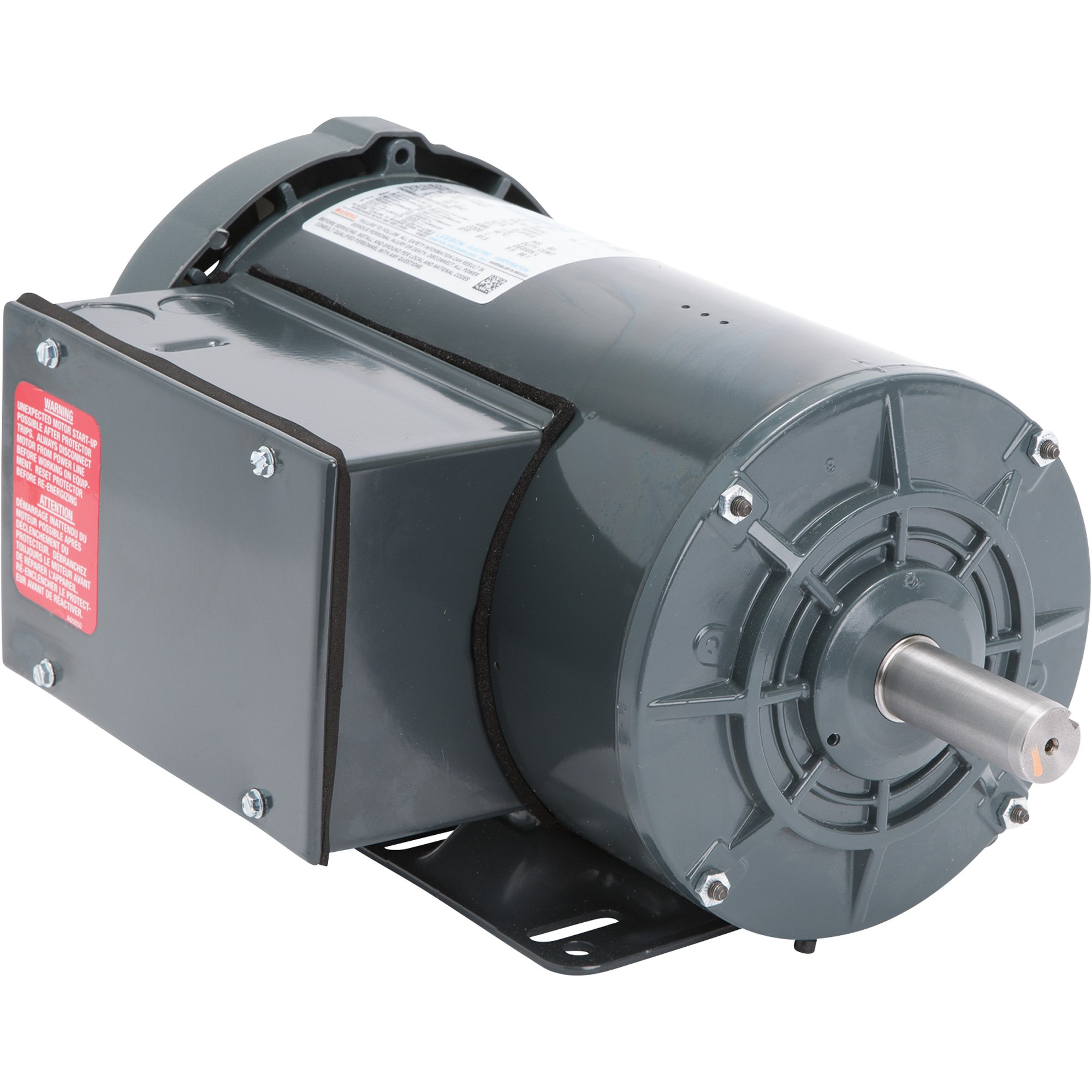 leeson farm duty ac electric motor 2 hp 1800 rpm 230