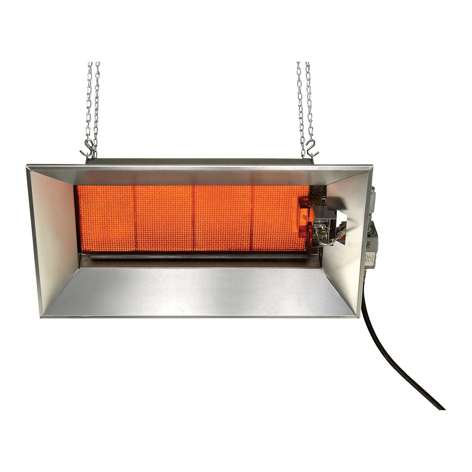 SunStar Heating Products Infrared Ceramic Heater — NG, 52,000 BTU ...