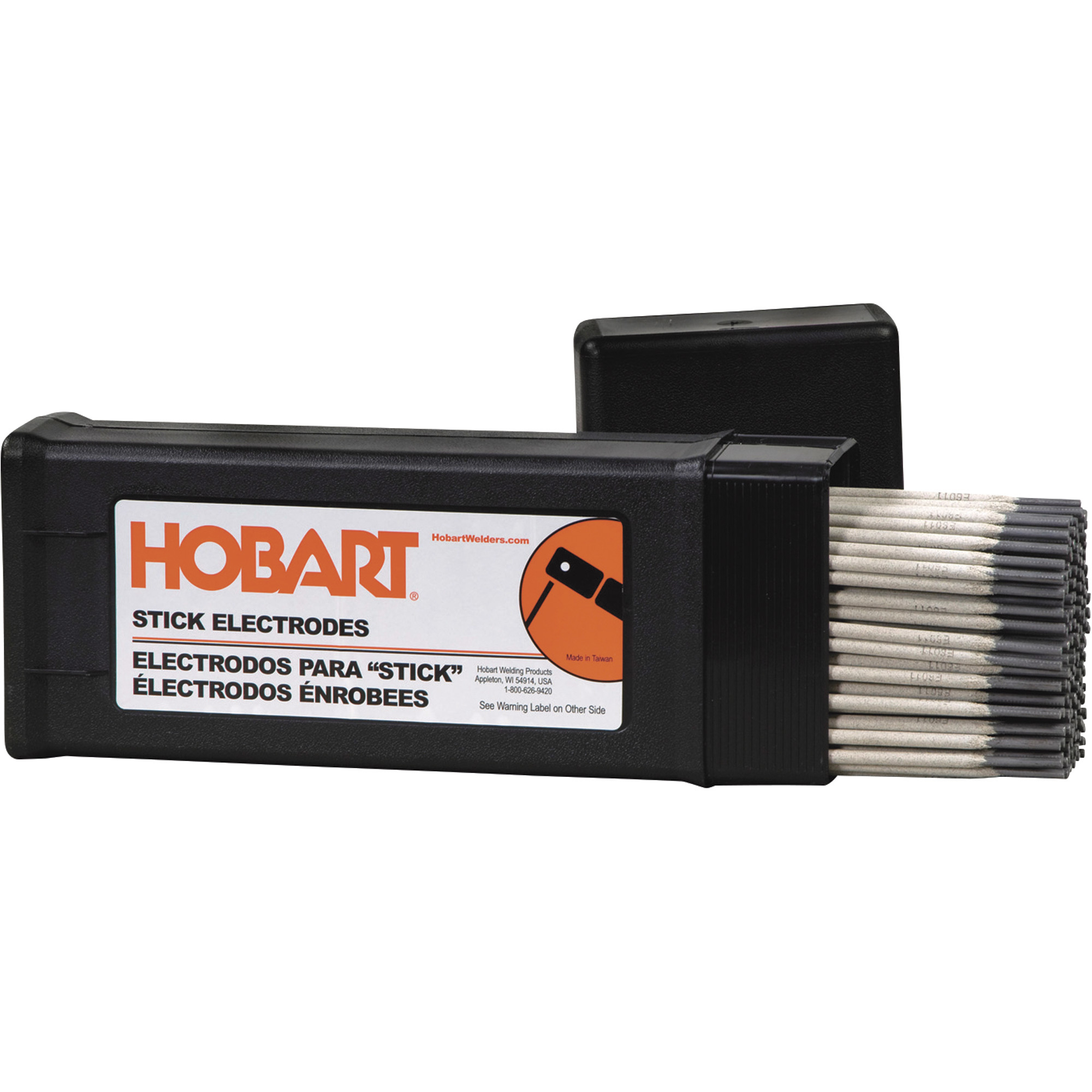 Hobart Stick Welding Electrodes — 6011, 1/8in. x 14in.L, 10-Lb ...