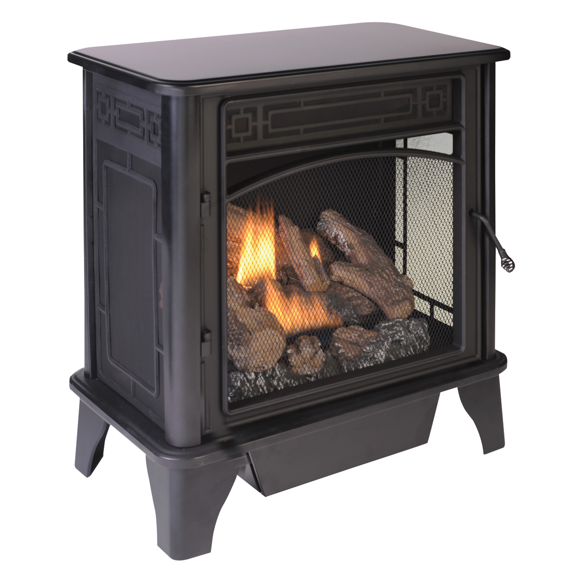 fuel stove 23 000 btu 850 sq ft heating area model pcsd25rt