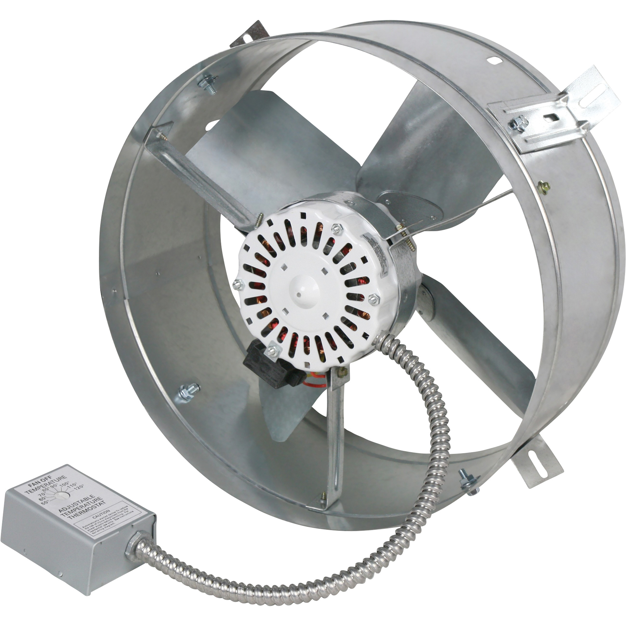 Mountable Exhaust Fan : Cool attic gable mount exhaust ventilator fan