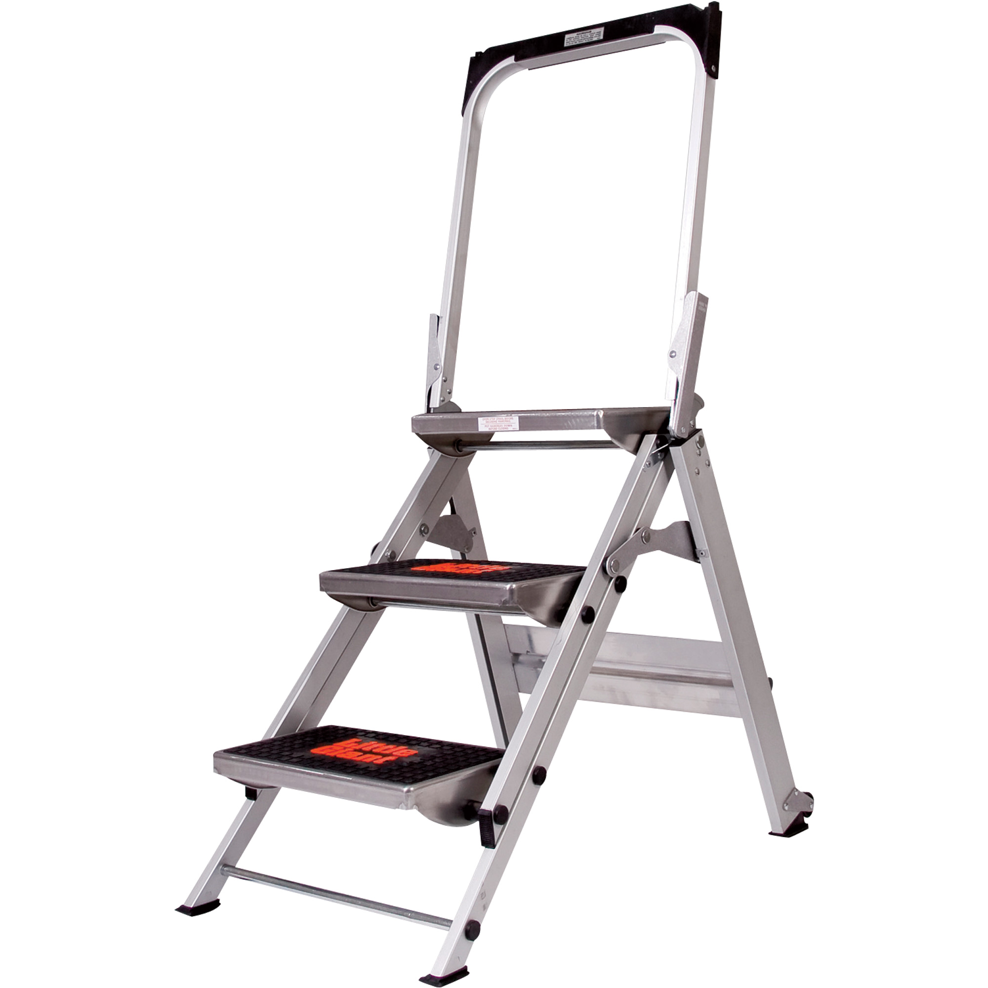 Little Giant Type 1a Safety Step Step Stool 3 Steps 300