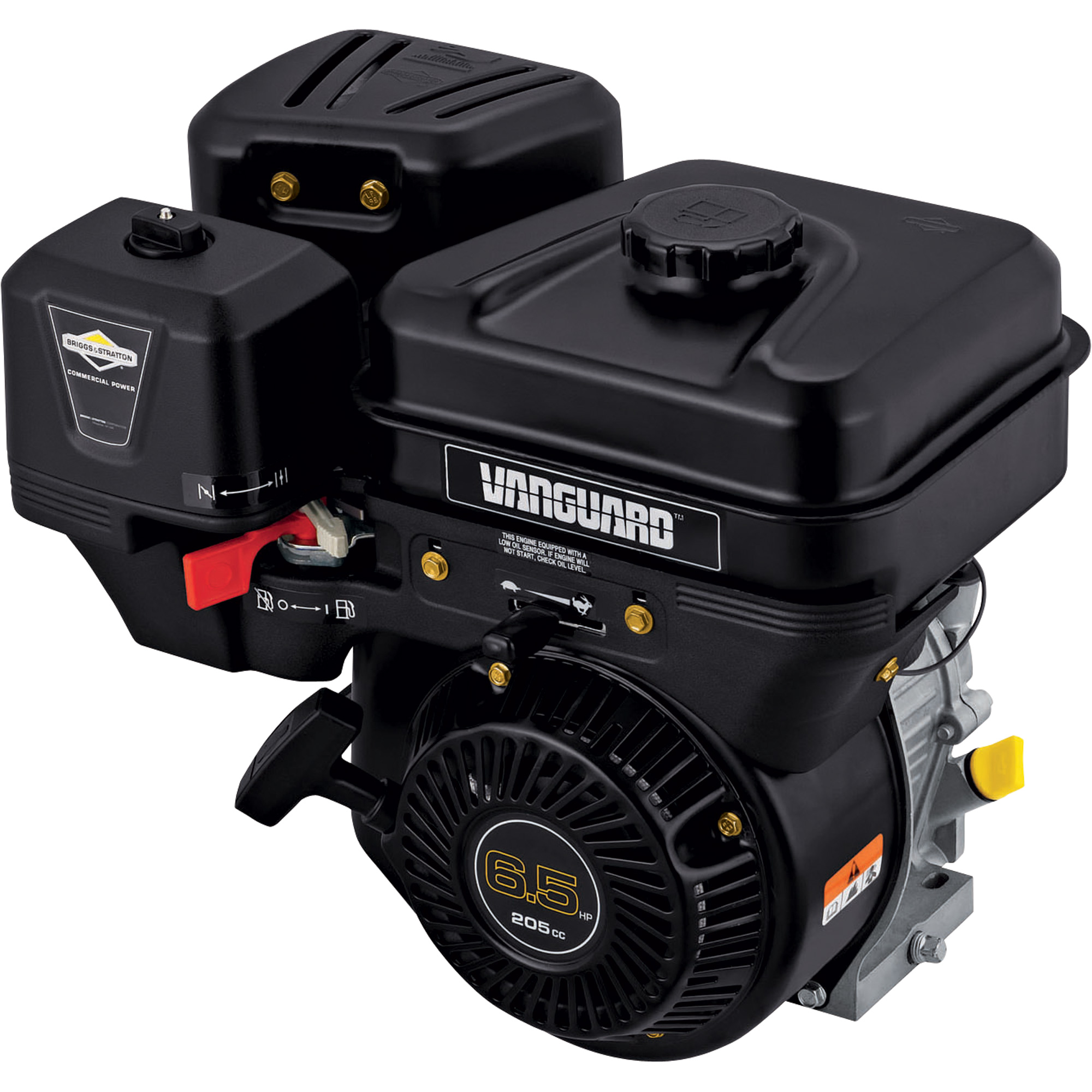 Briggs & Stratton Vanguard Commercial Power Horizontal OHV Engines — 205cc,  3/4in.
