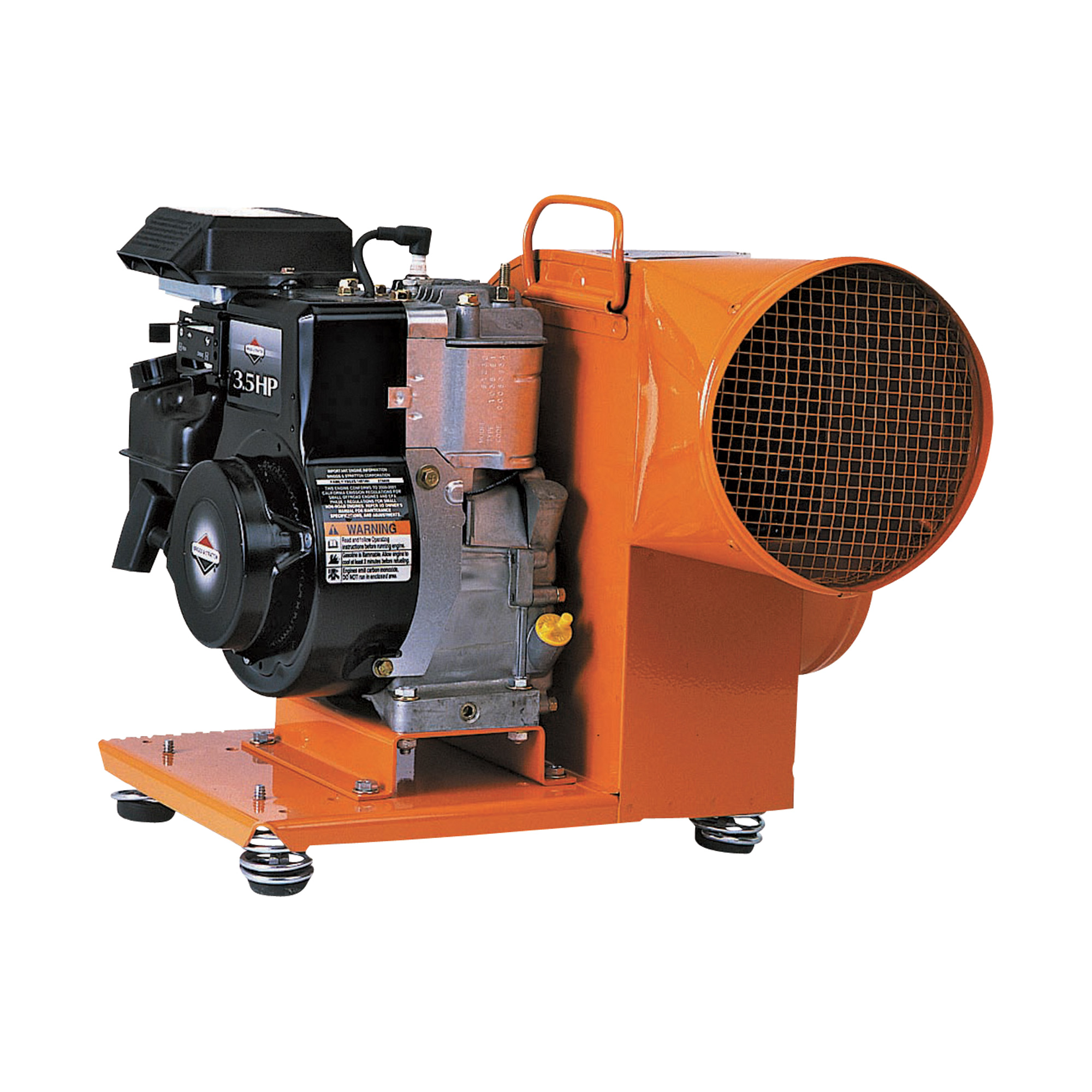 Gas Powered Blowers : Product tpi gas powered centrifugal blower — cfm
