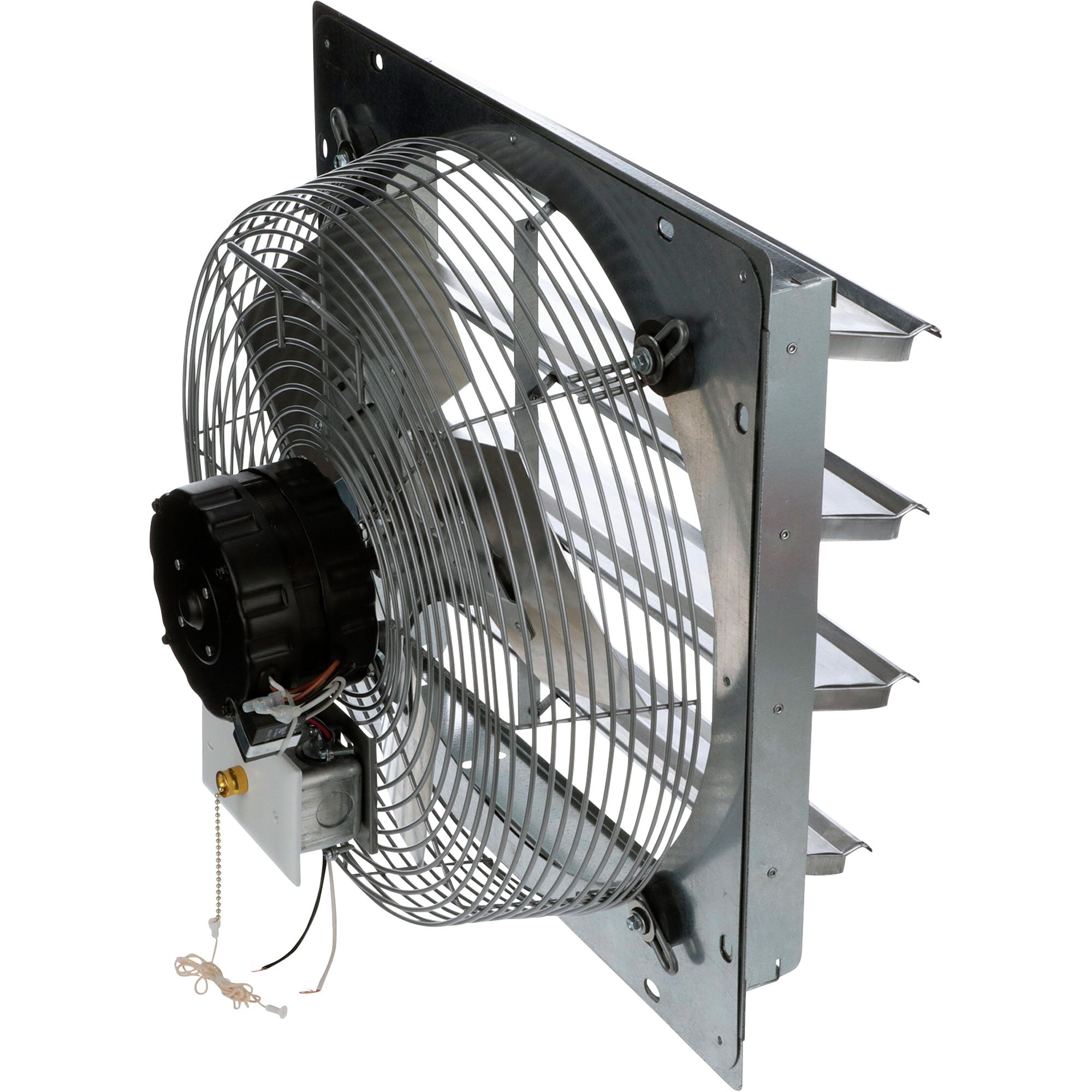 Types Of Industrial Fans : Tpi shutter mounted direct drive exhaust fan — in