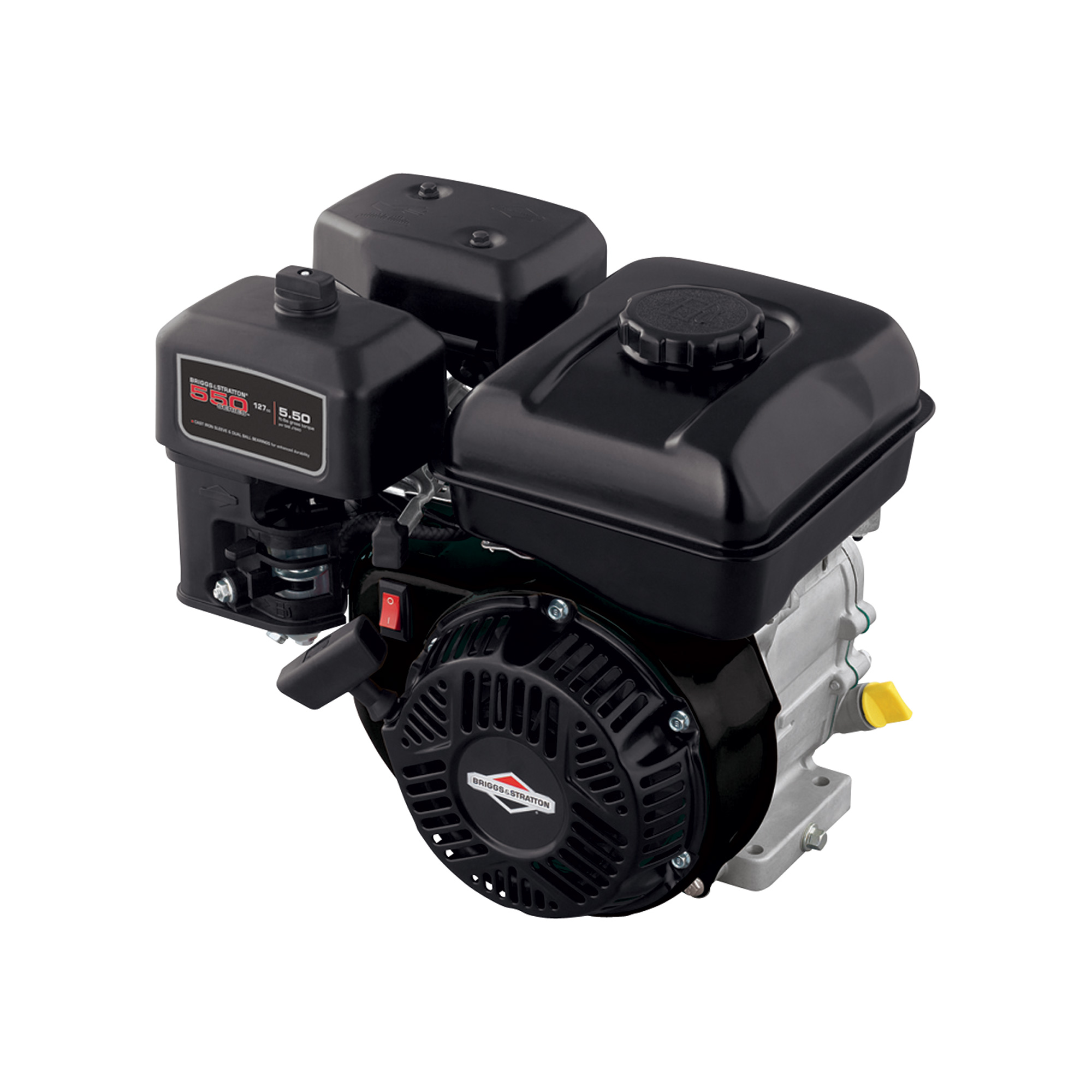 Briggs & Stratton 550 Series Horizontal OHV Engine — 127cc, 5/8in  x 2  27/64in  Shaft, Model# 83132-1040-F1