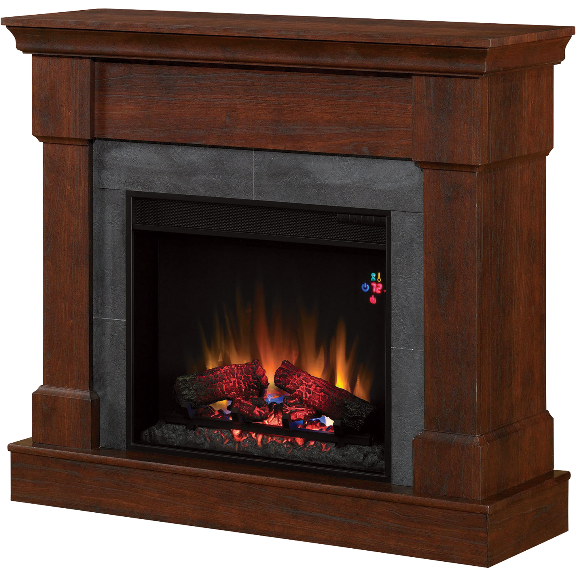 Product Chimneyfree Vent Free Franklin Dual Mantel Electric Fireplace 4600 Btu Model