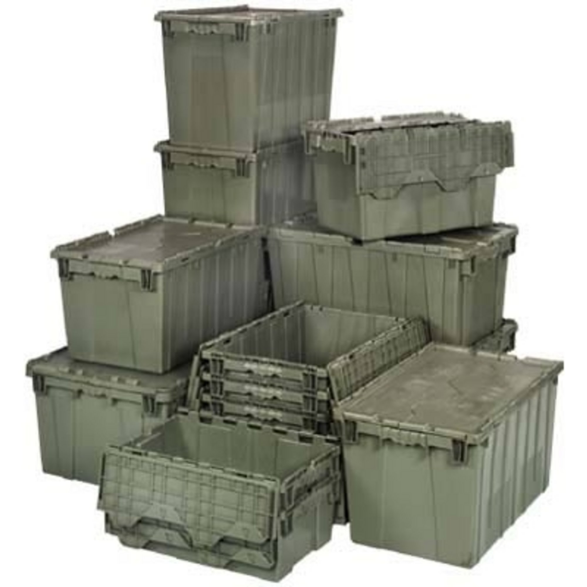 Quantum Storage Heavy Duty Attached Top Container 24in X 20in 12 1