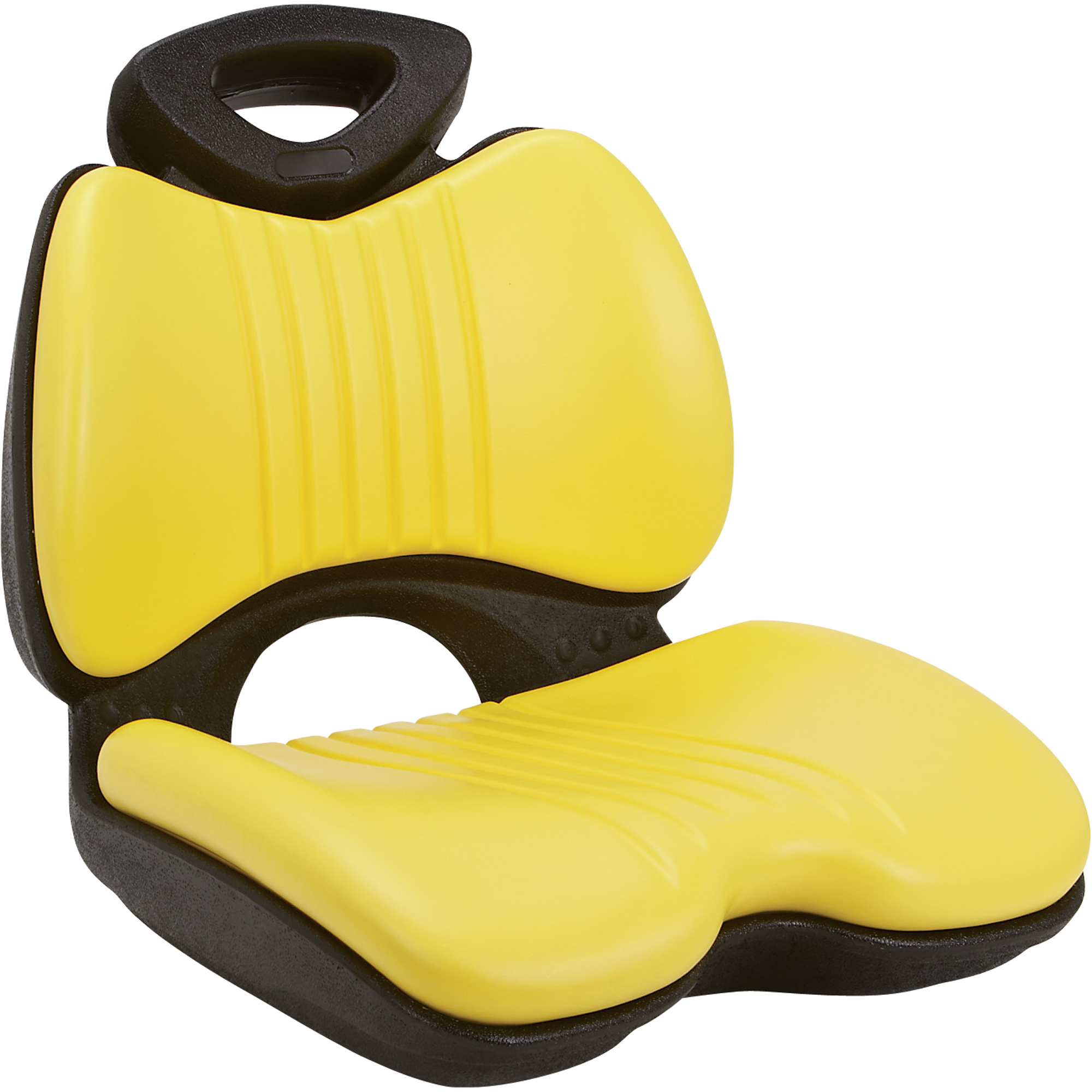 K And M Tractor Seats : K m comfort formed lawn garden tractor seat — yellow