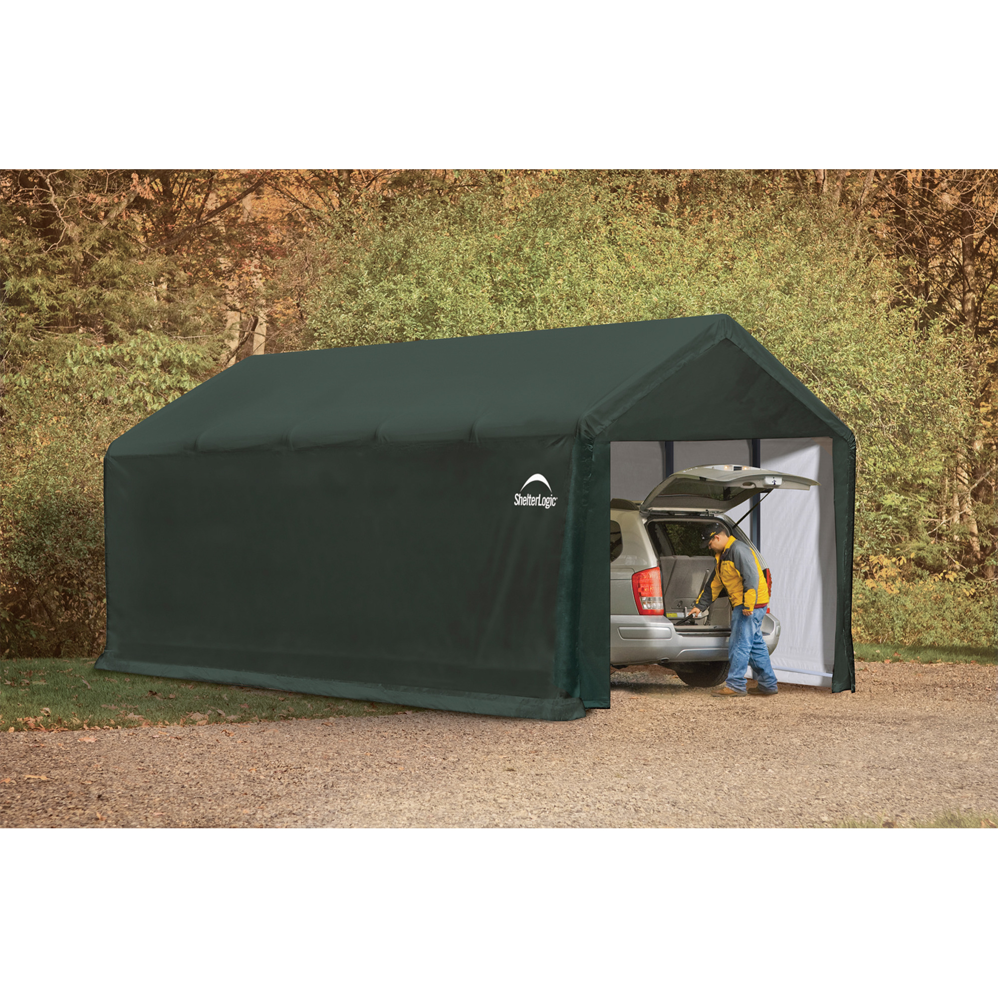 Heavy Equipment Shelters : Shelterlogic sheltertube heavy duty storage shelter — ft