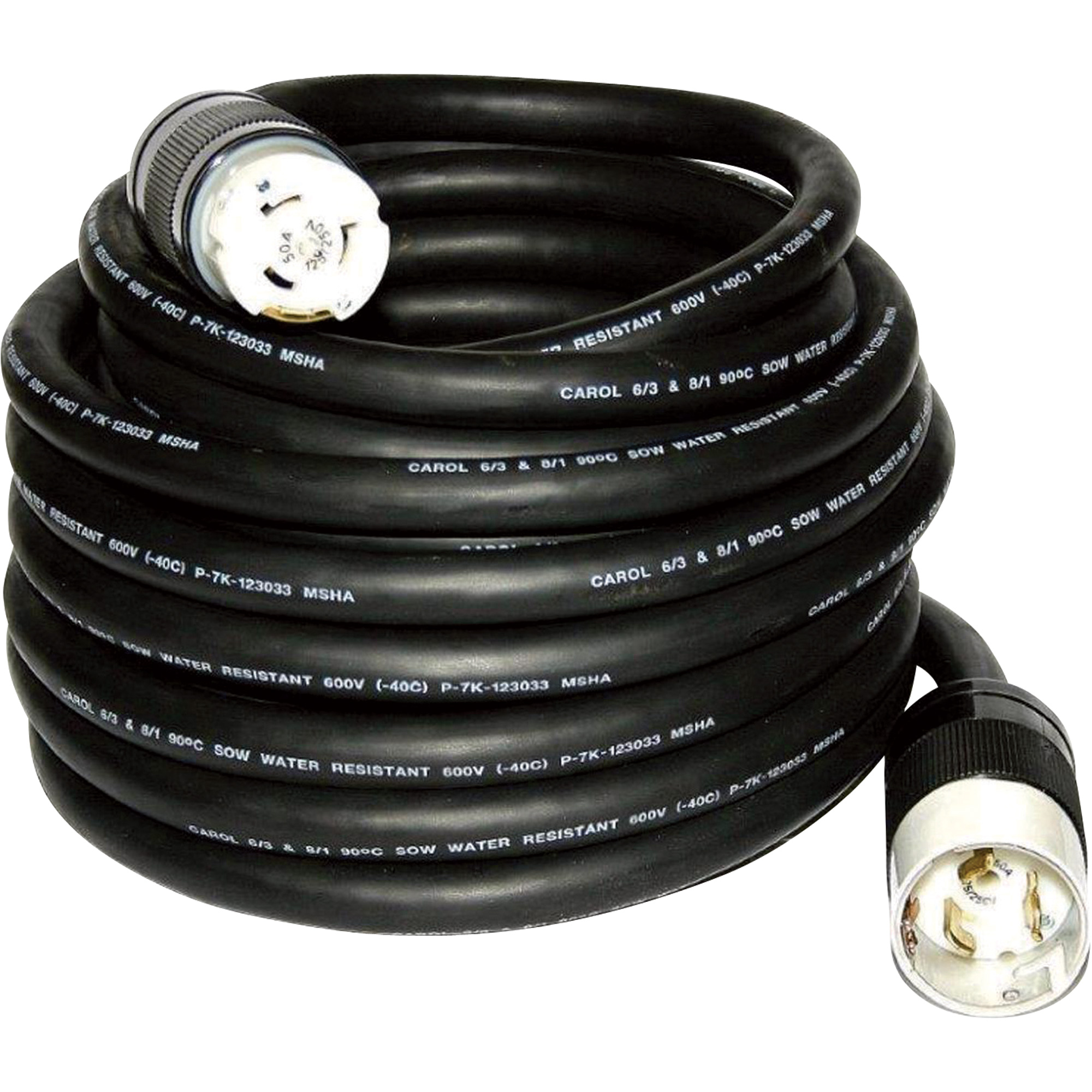 Cep All Weather Power Cord 50 Amps 125 250 Volts 100ft