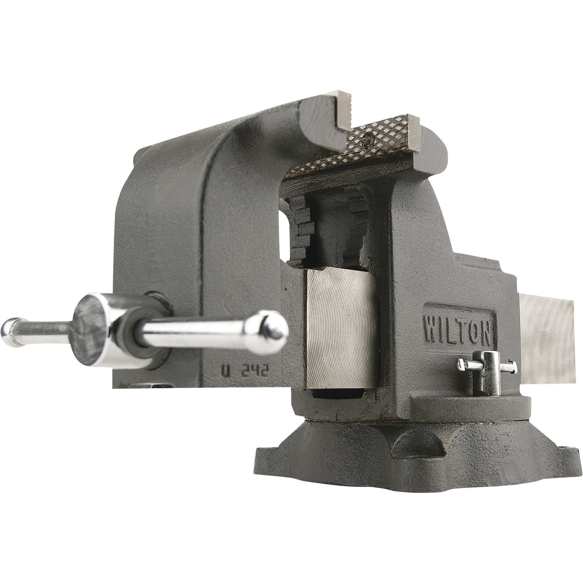 Merveilleux Wilton Shop Bench Vise U2014 8in. Jaw Width, Model# WS8