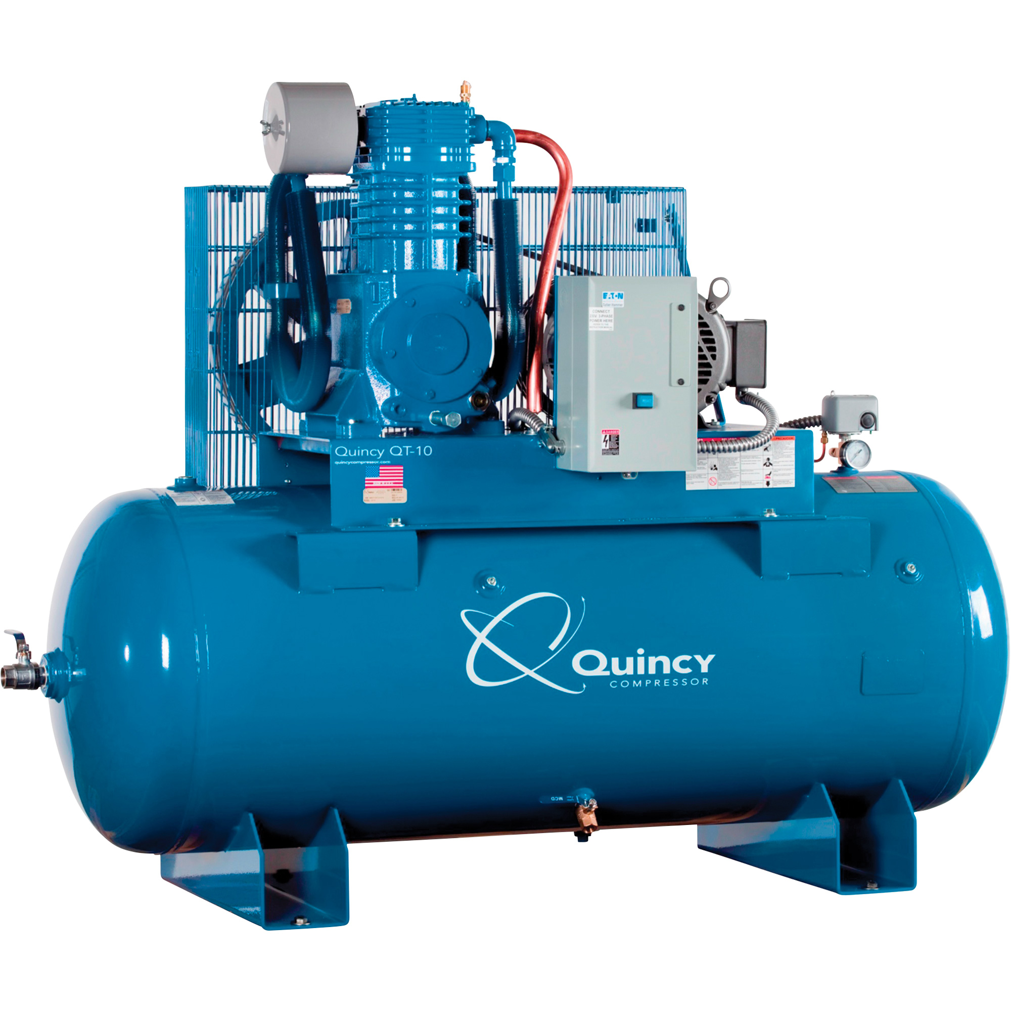 Quincy Qt 10 Splash Lubricated Reciprocating Air