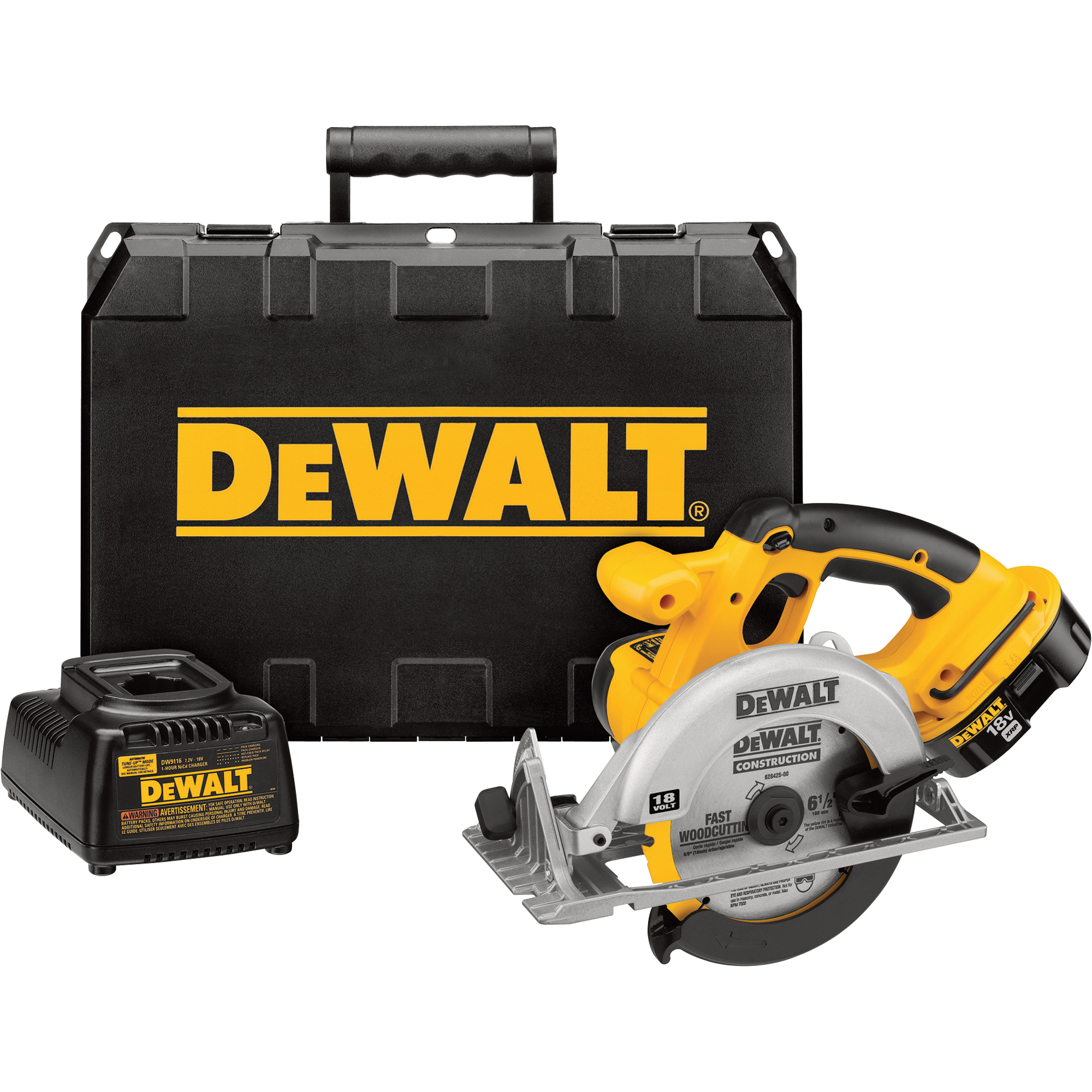 free shipping dewalt cordless 6 1 2in circular saw kit. Black Bedroom Furniture Sets. Home Design Ideas