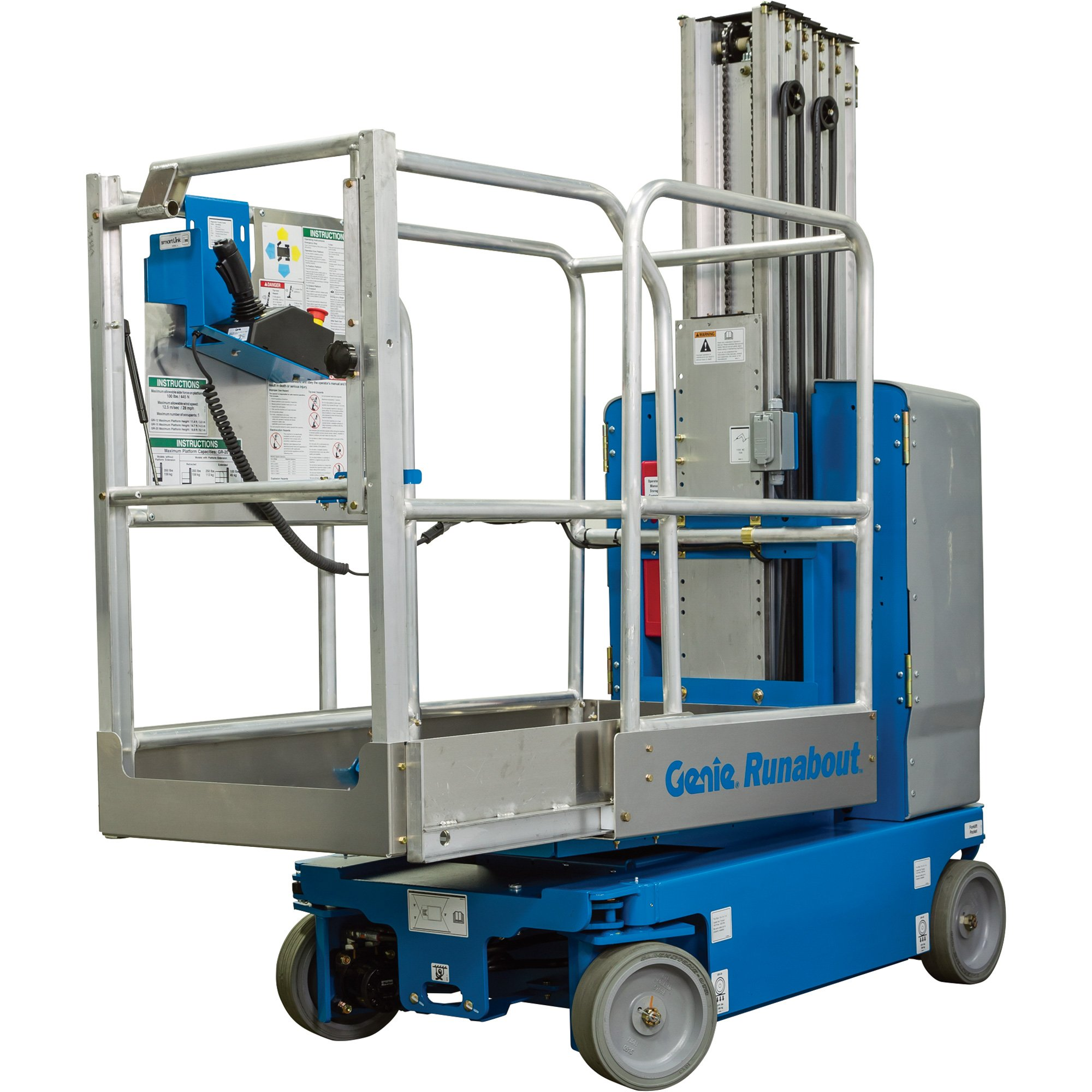 Genie Runabout Lift With Extension Deck 12ft Lift 500