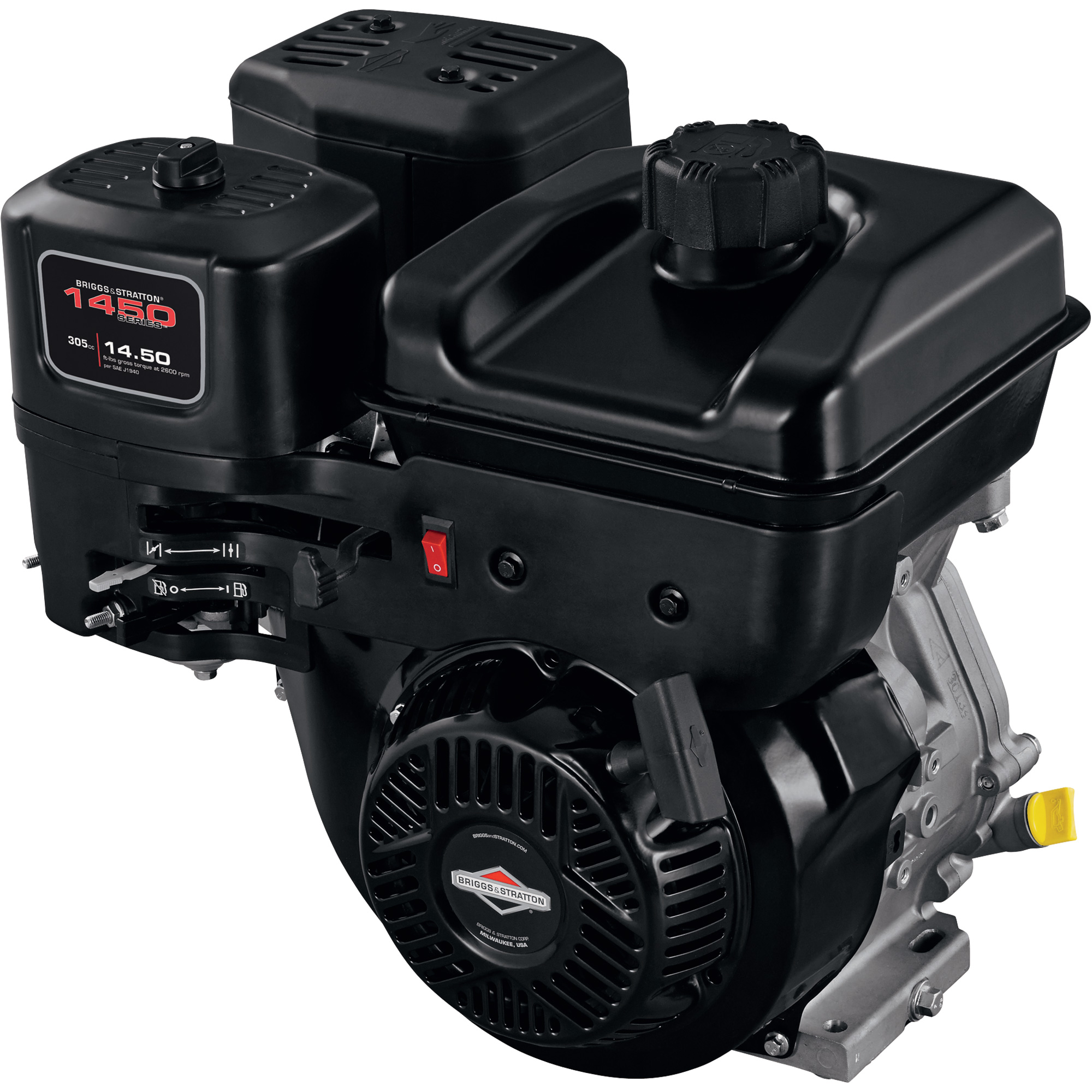 briggs stratton 1450 series horizontal ohv engine. Black Bedroom Furniture Sets. Home Design Ideas