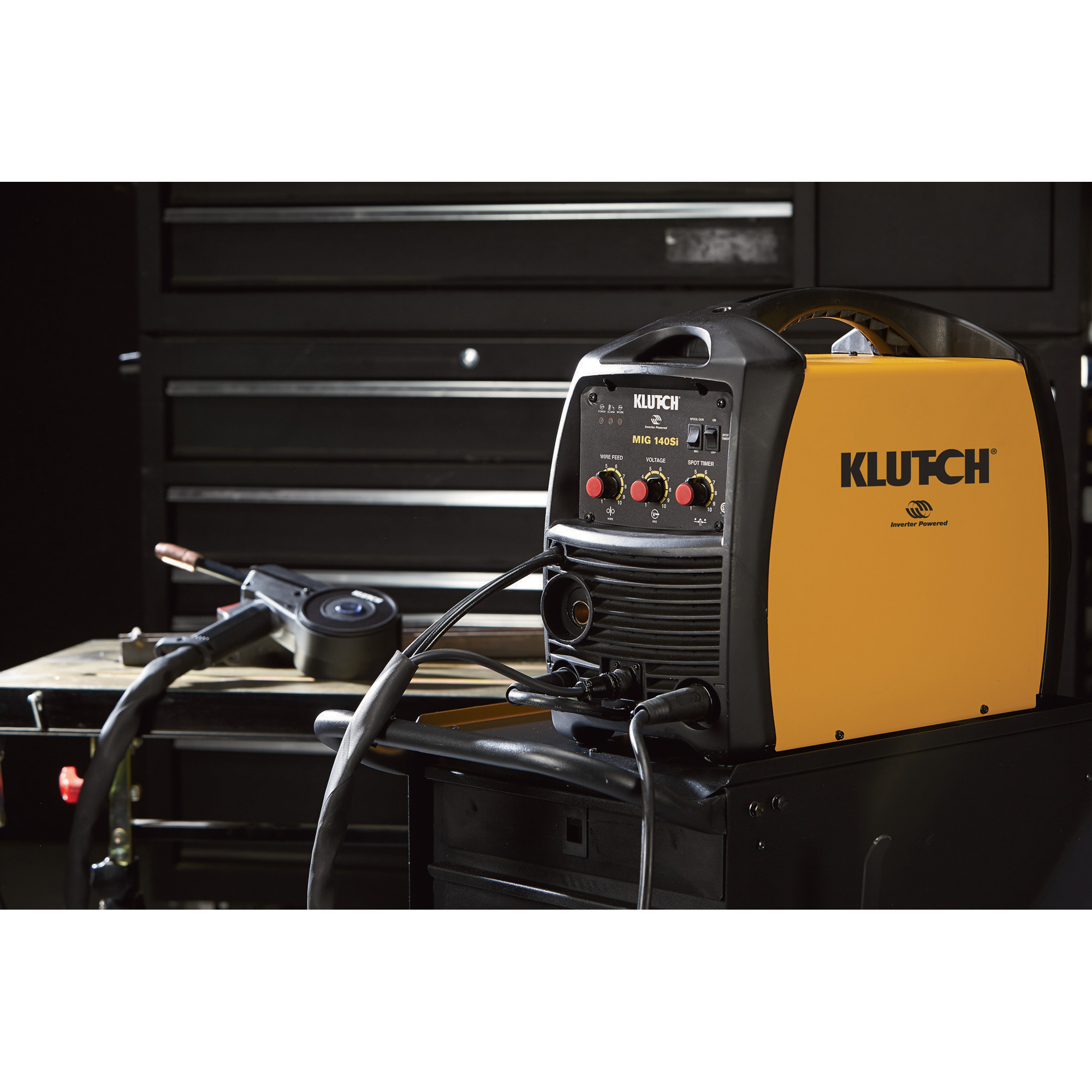 Klutch Mig 140si Flux Core Welder Inverter 115v 30140 Amp Diagram As Well Welding Machine On Arc Wiring 360 Main Product Image Additional Thumbnail 1 2 3 4