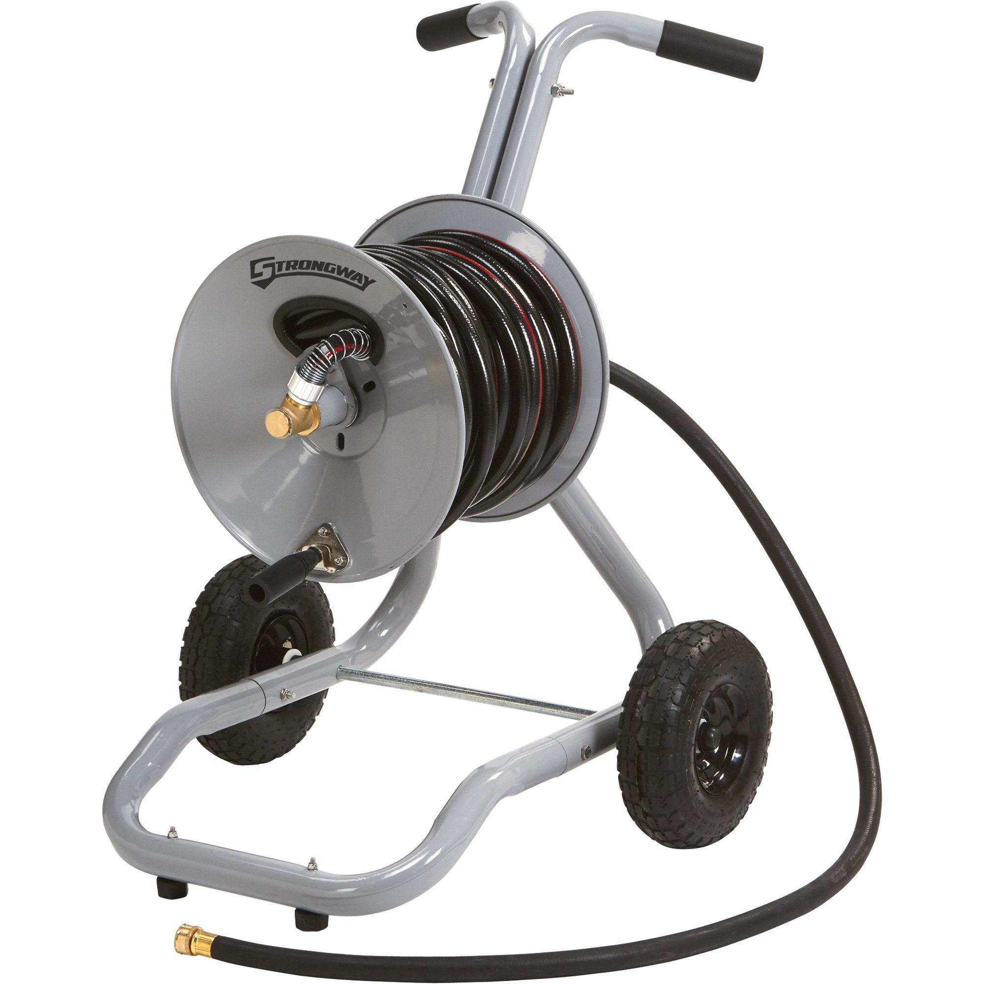 Strongway Garden Hose Reel Cart Holds 5 8in X 150ft
