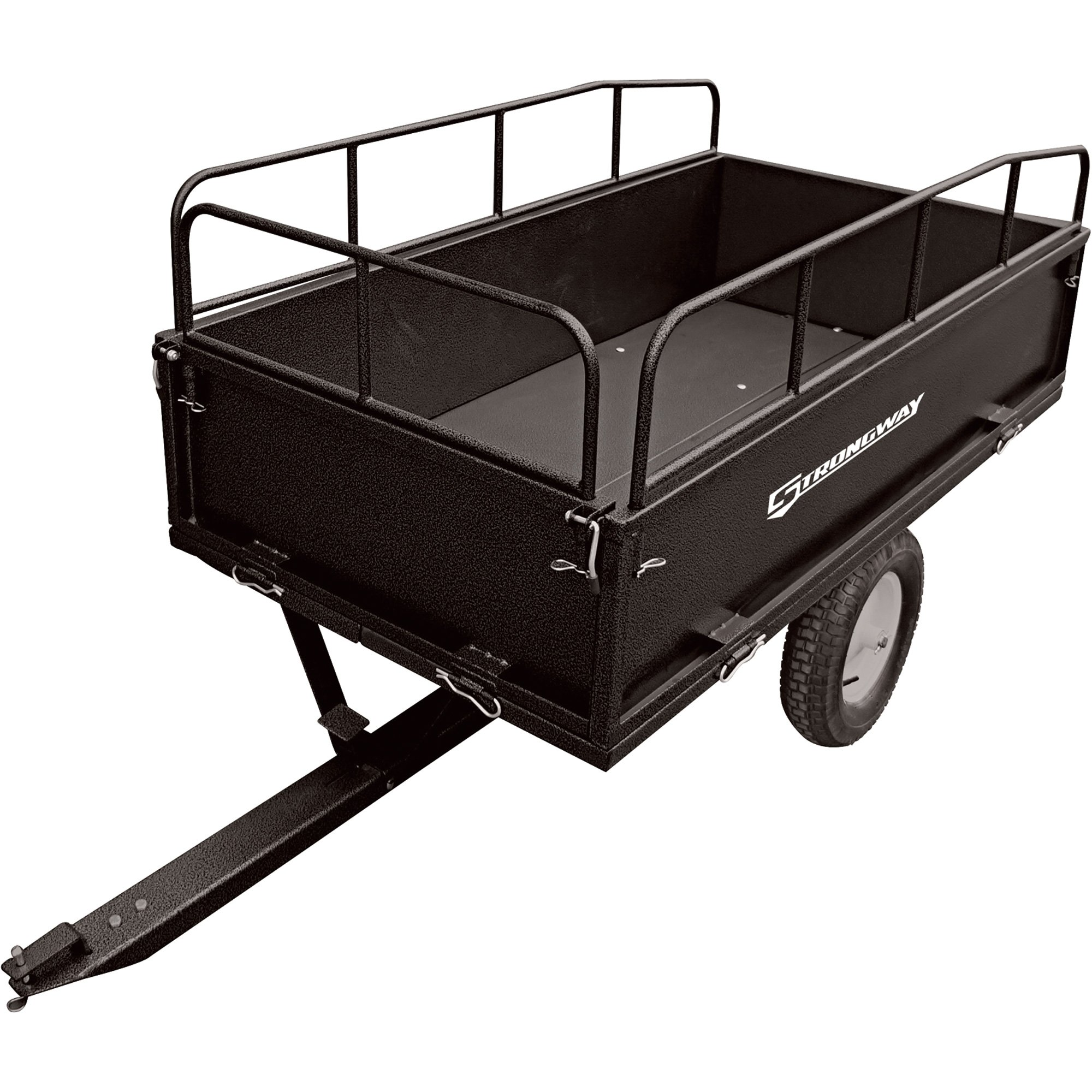 The Ironton 5ft. x 8ft. heavy-duty trailer kit has a large, customizable 96in. x 60in. steel deck area (decking not included) to handle big loads. lb. max. GVWR. Meets or exceeds all road-ready specifications and DOT ezeciris.mls: