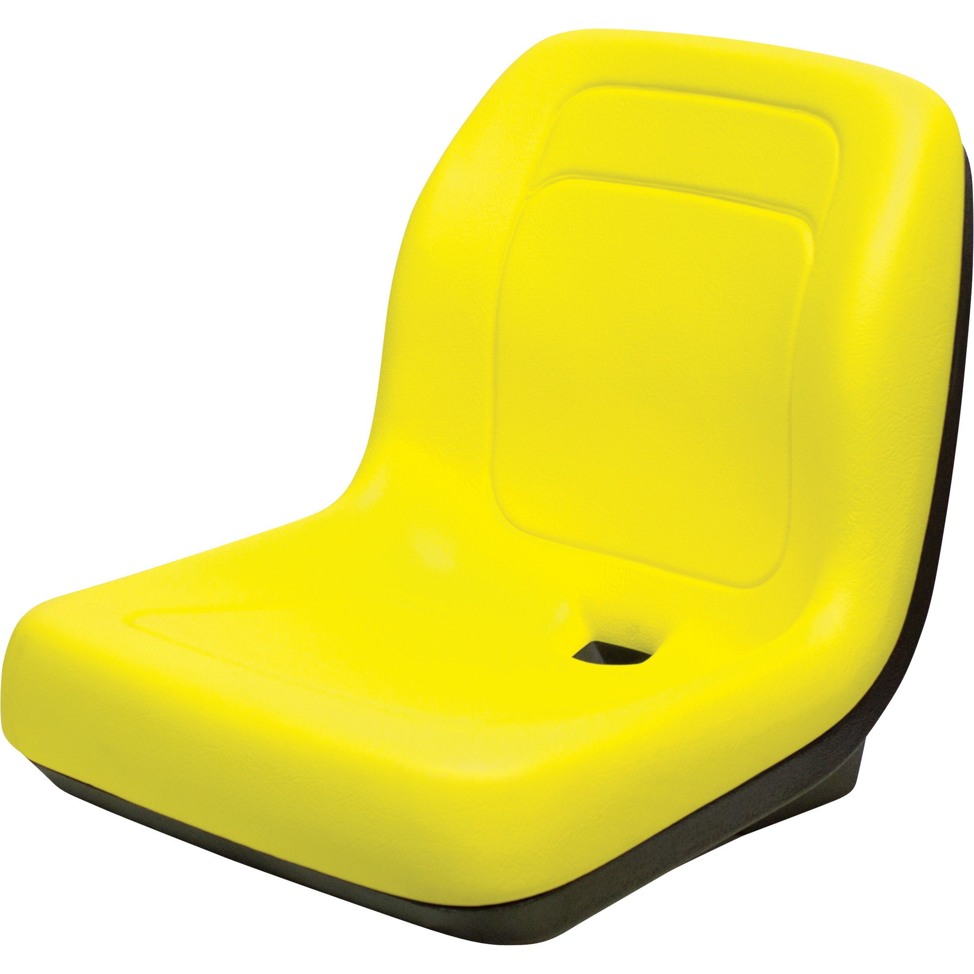 K And M Tractor Seats : K m tractor seat — yellow for john deere tractors