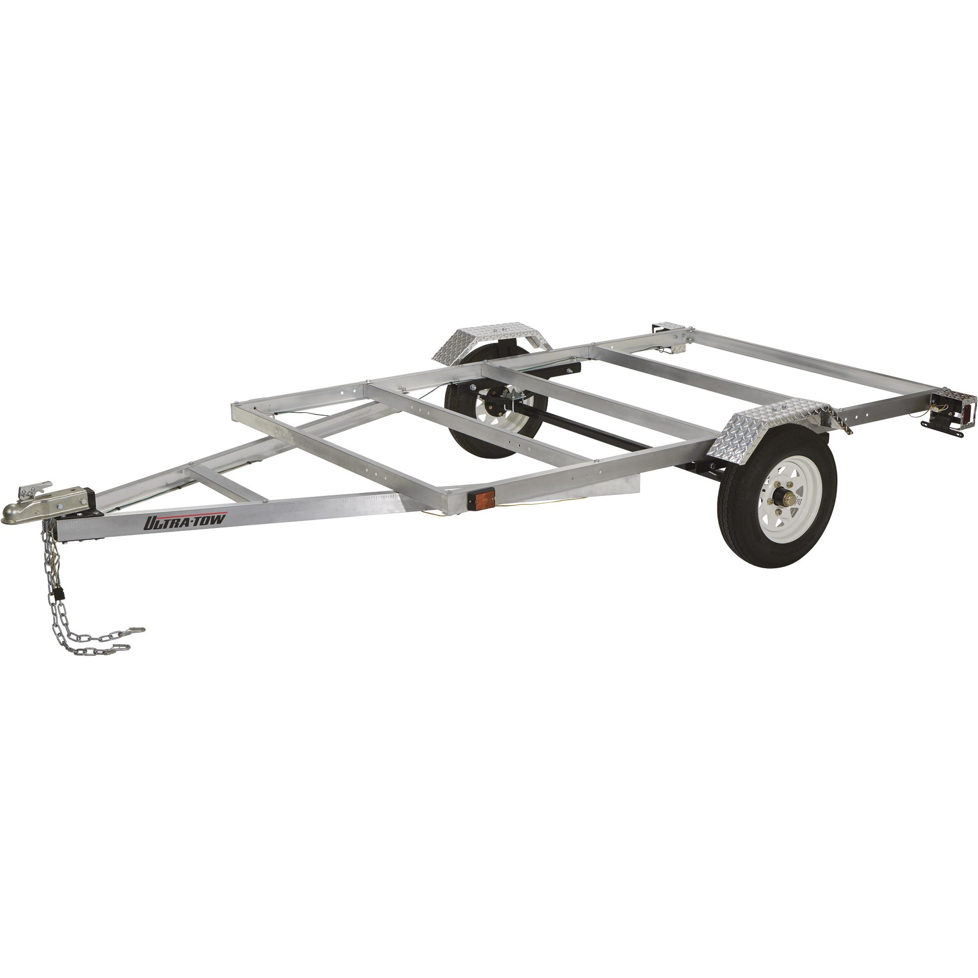 FREE SHIPPING — Ultra-Tow 5ft. x 8ft. Aluminum Utility Trailer Kit ...