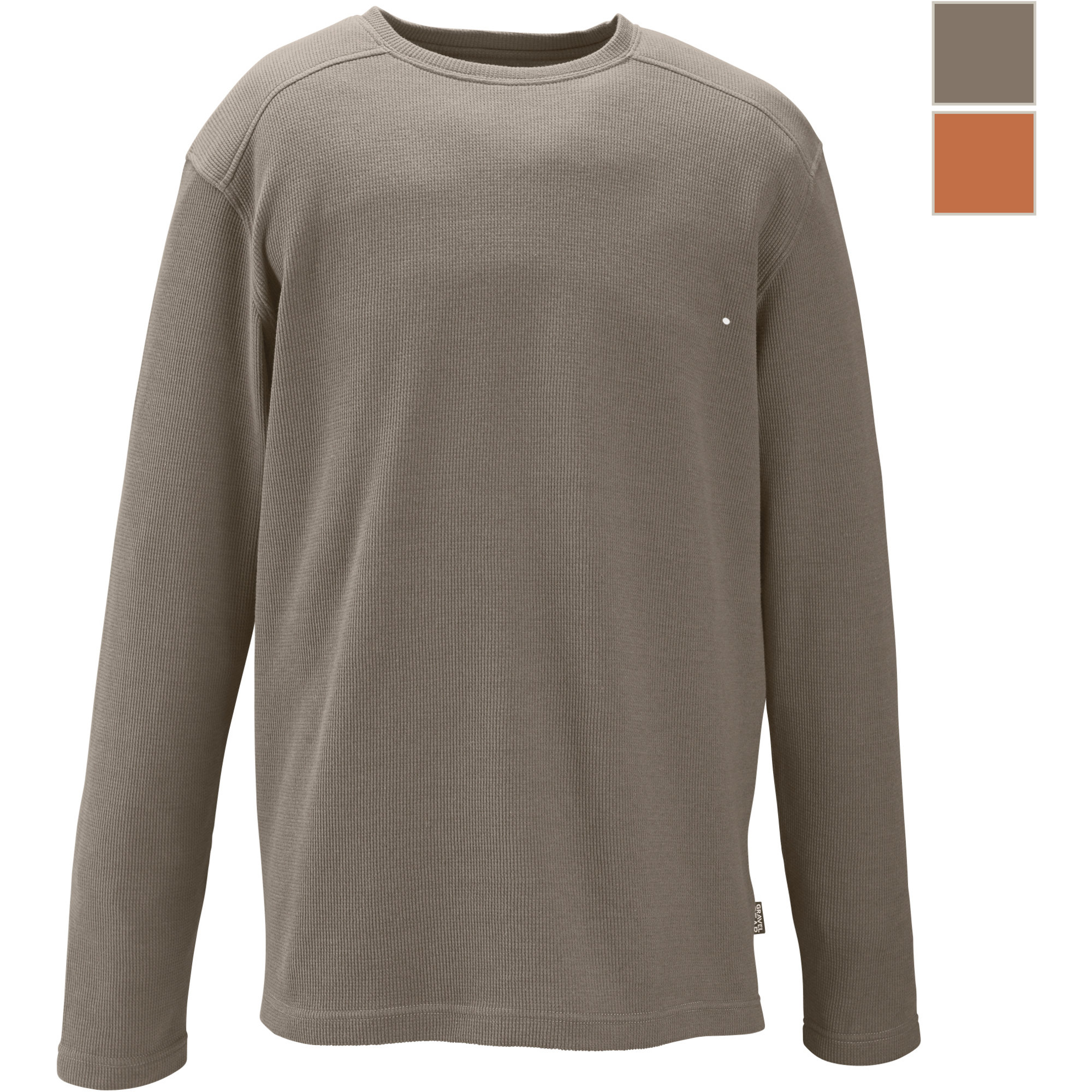 Free shipping gravel gear thermal waffle long sleeve t Thermal t shirt long sleeve