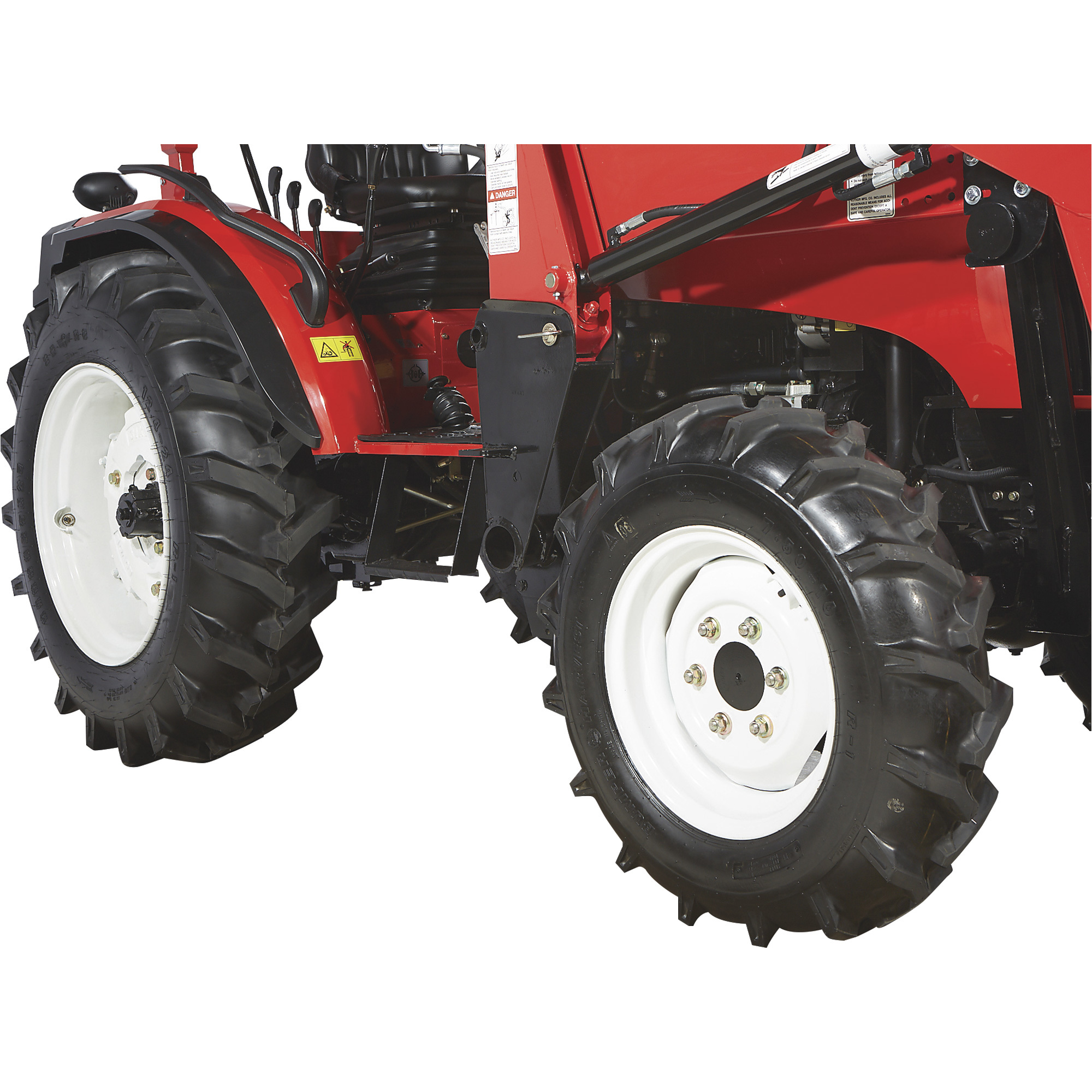 NorTrac 35XT 35 HP 4WD Tractor with Front End Loader — With Ag  Tires
