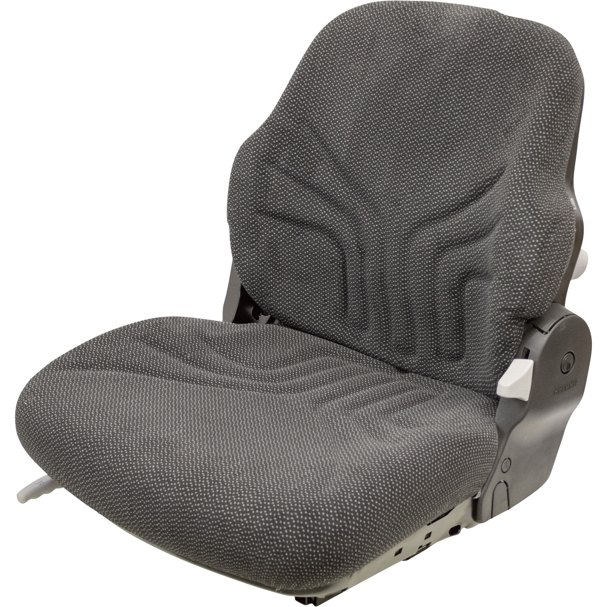 K And M Tractor Seats : K m uni pro fabric tractor seat — black model