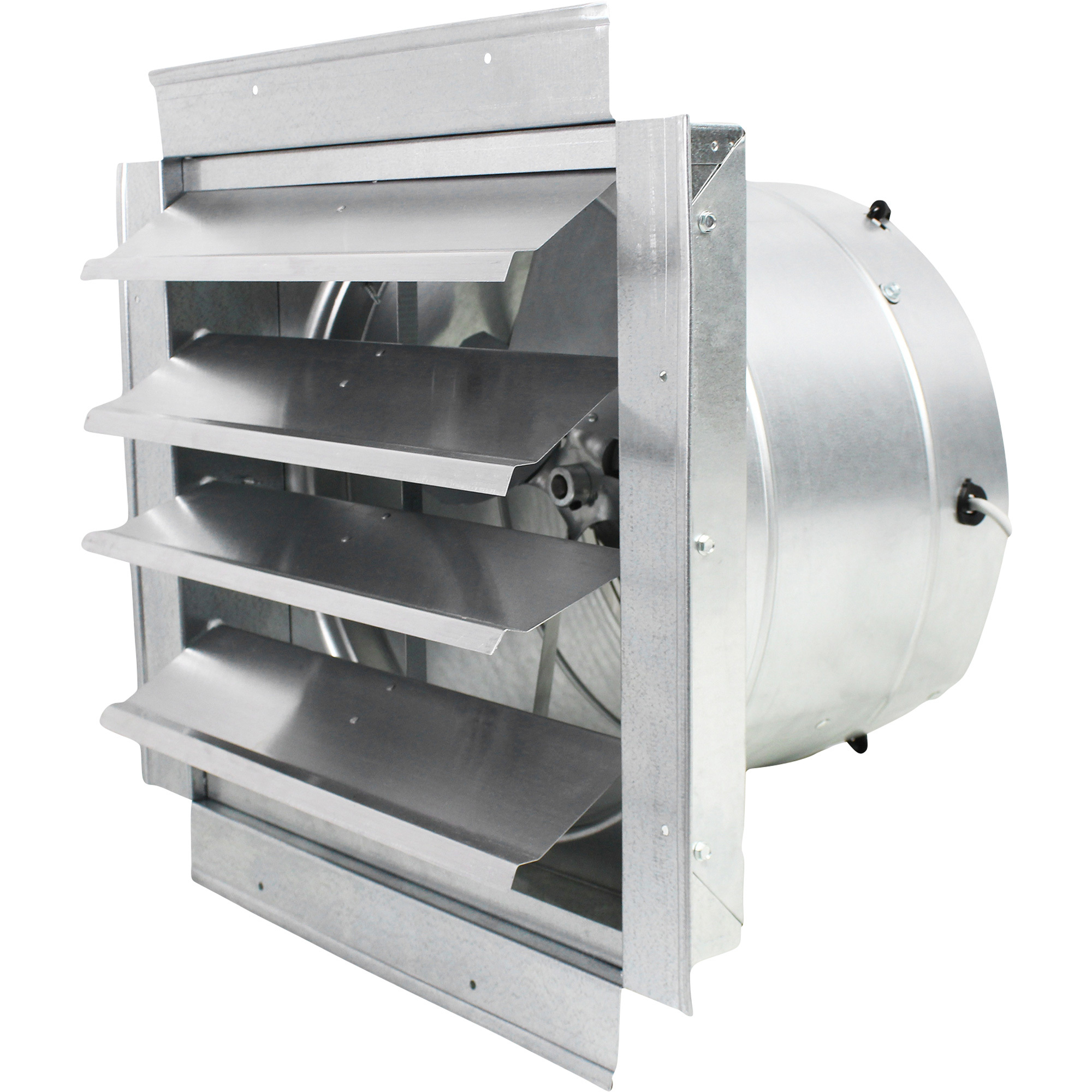 MaxxAir Ventamatic Exhaust Fan with Integrated Shutters — 1400 CFM  #38505C