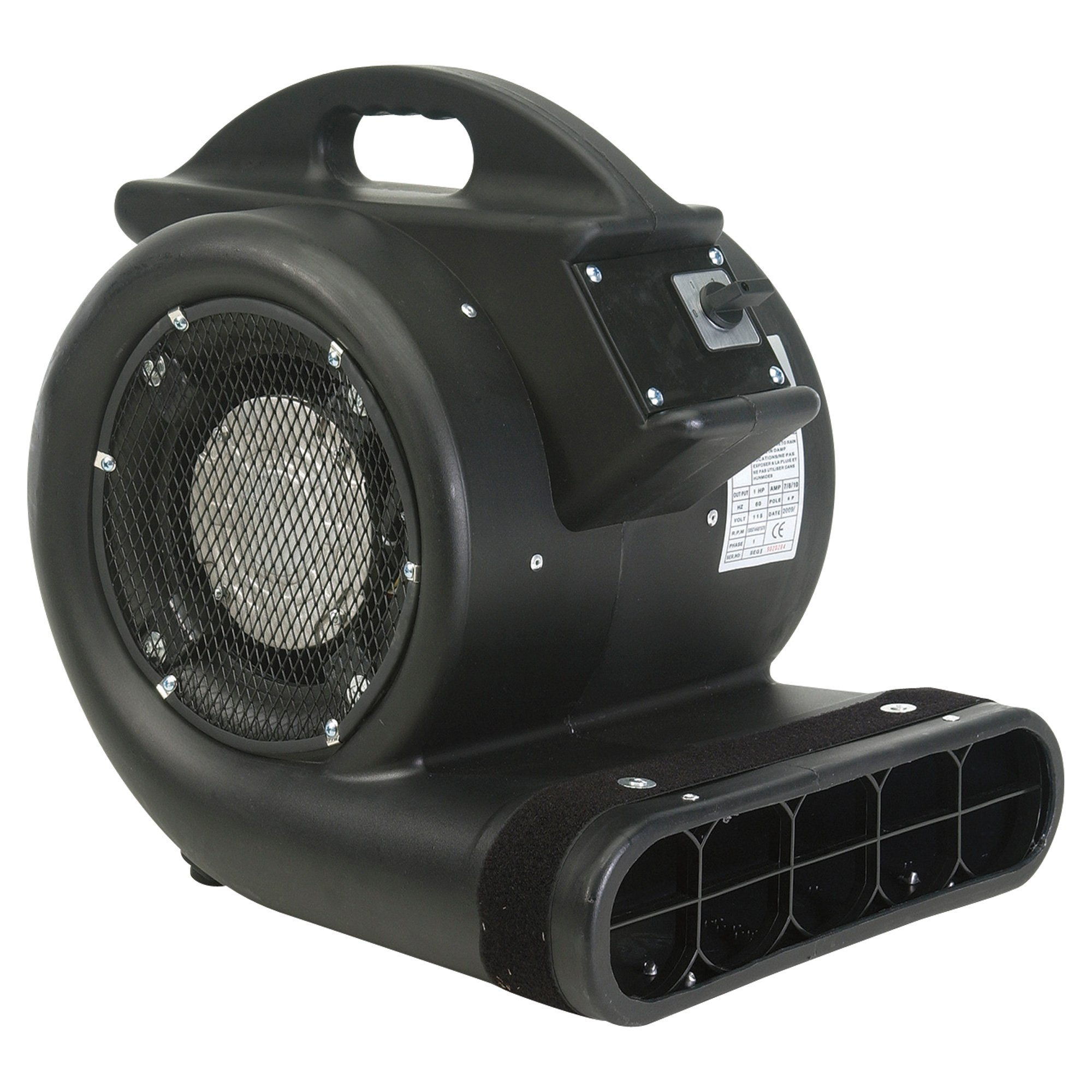 Air Foxx Carpet Floor Blower 3 4 Hp 3450 Cfm Model