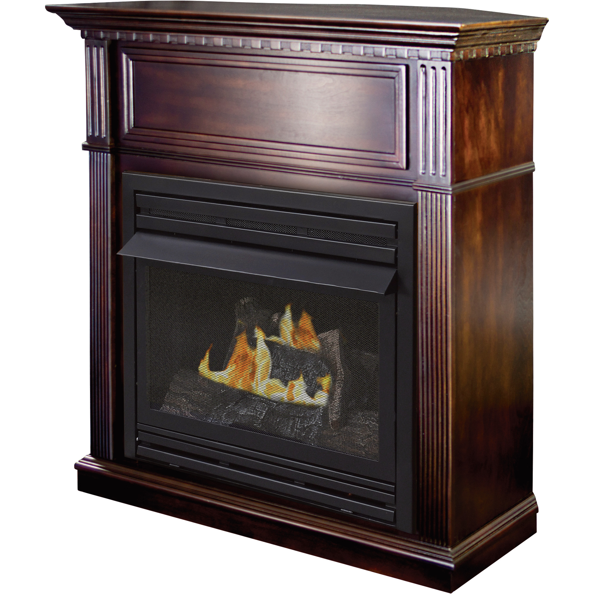Pleasant Hearth Dual Fuel Vent-Free Fireplace — 27,500 BTU ...