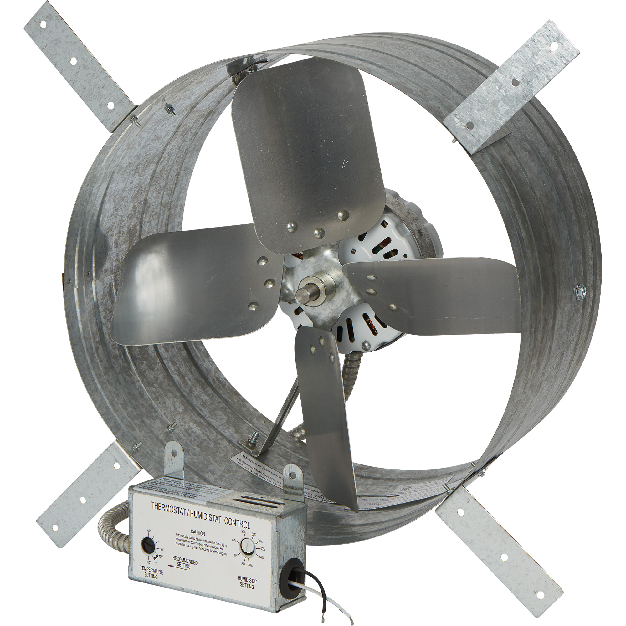 Strongway 14in Gable Exhaust Fan 1 8 Hp 1 600 Cfm