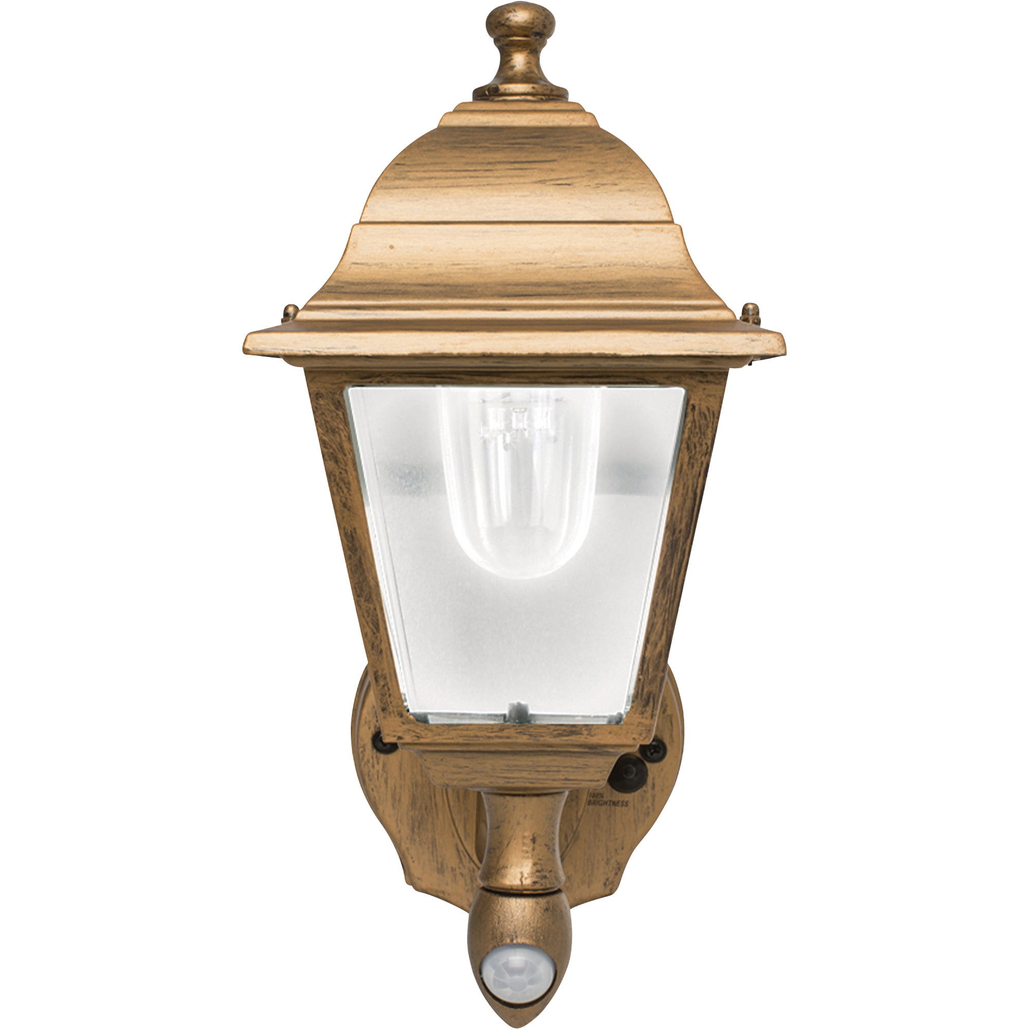 Maxsa Motion Activated Led Outdoor Wall Sconce 85 Lumens