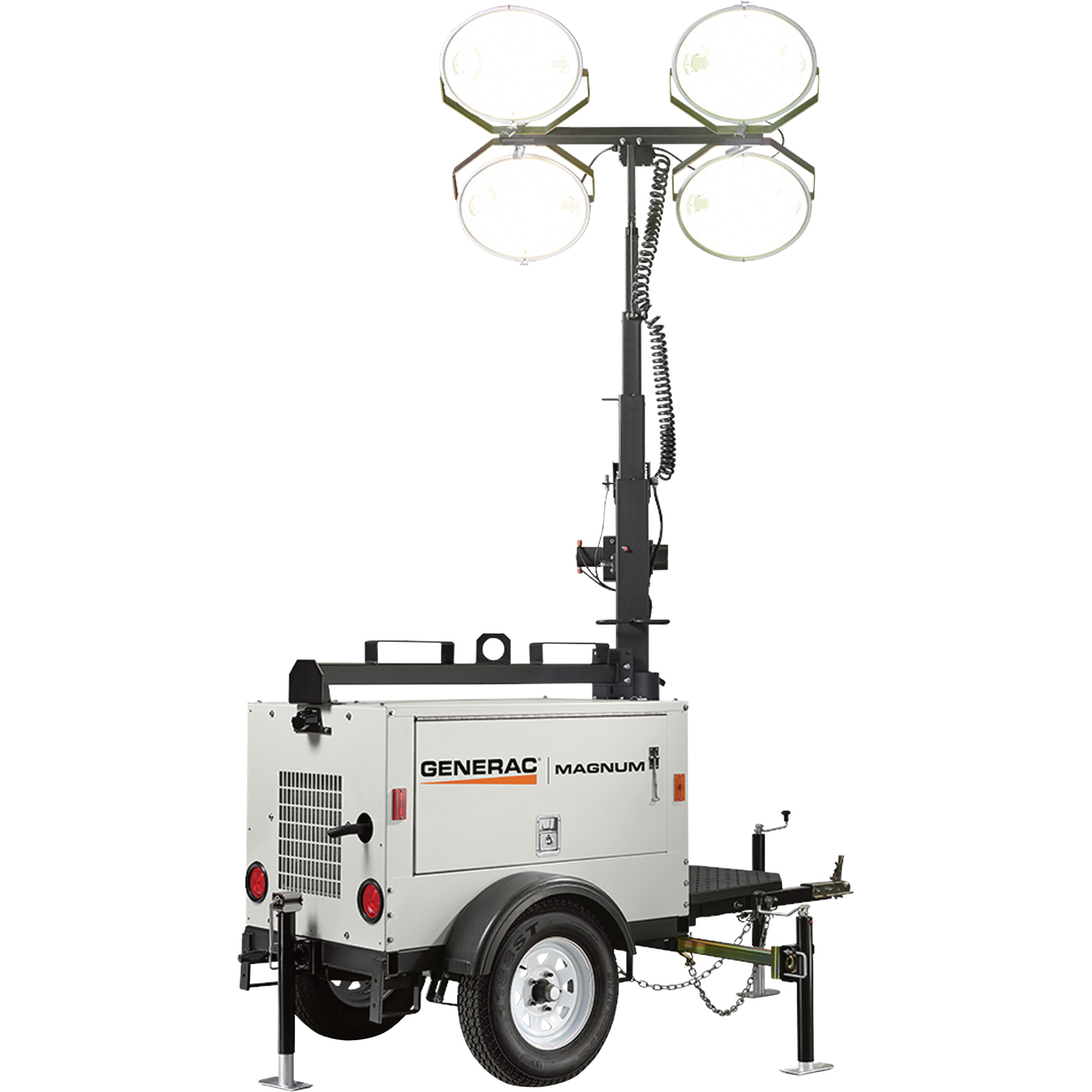 Generac Magnum MLT3060M Mobile Portable Light Tower
