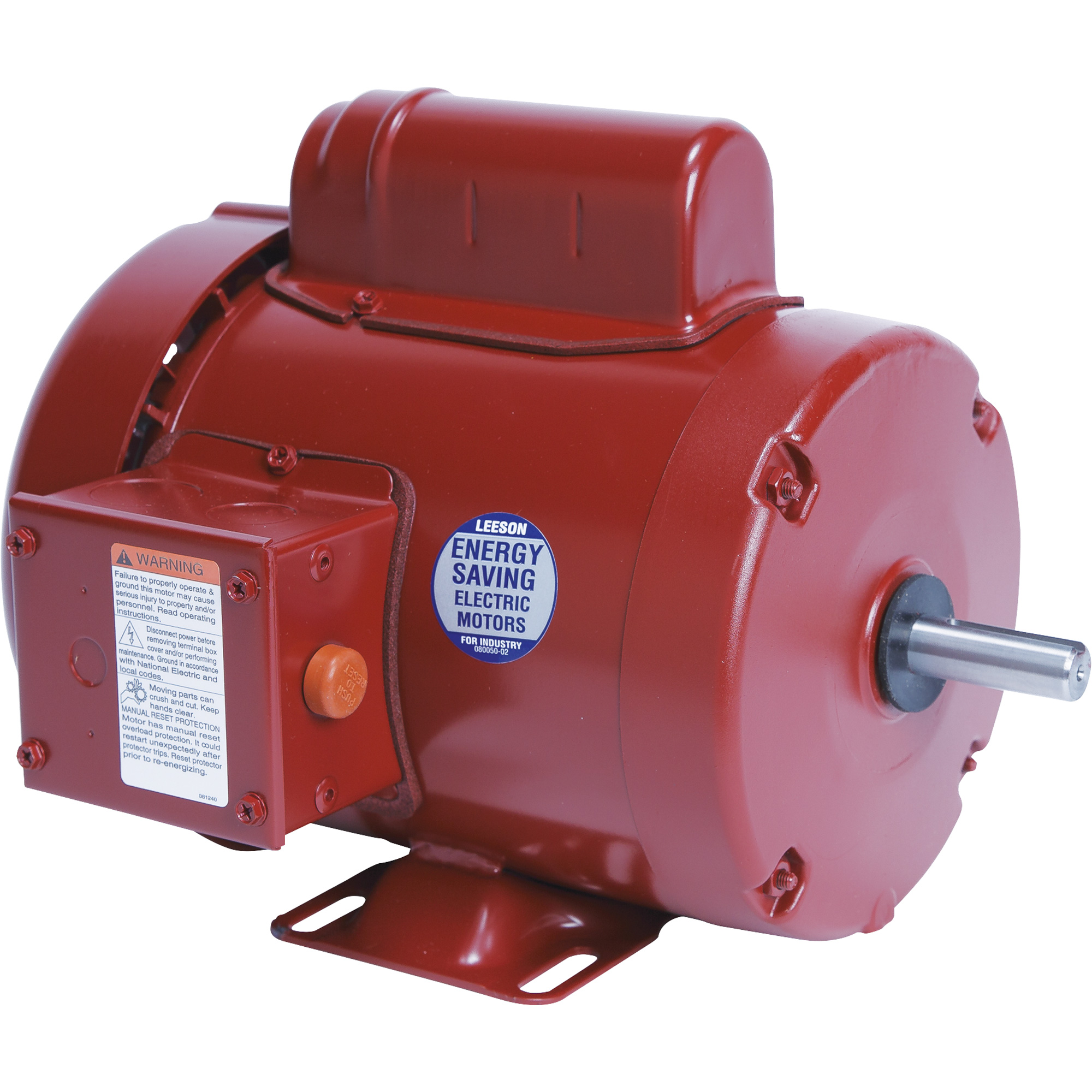 leeson farm duty electric motor 3 4 hp 1725 rpm 115