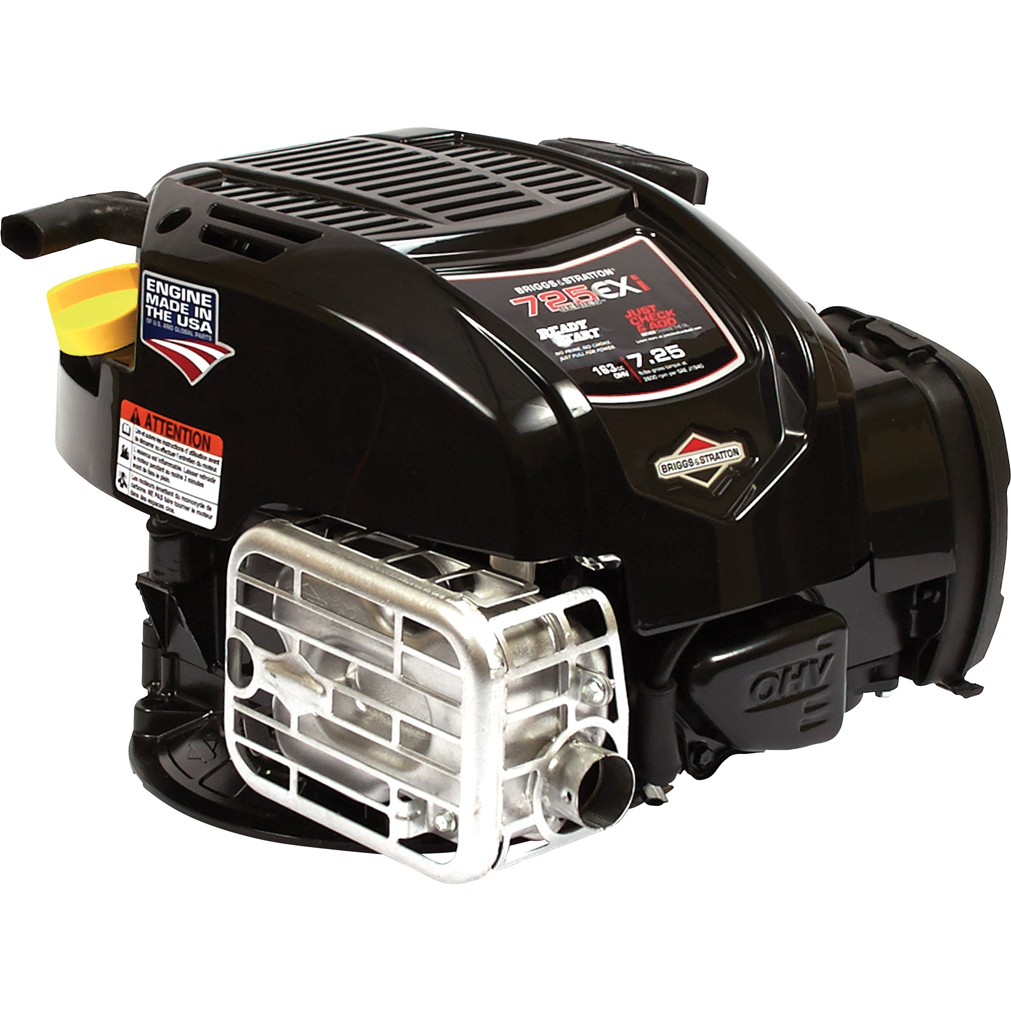 briggs stratton ohv lawn mower engine 163cc 7 8in x. Black Bedroom Furniture Sets. Home Design Ideas
