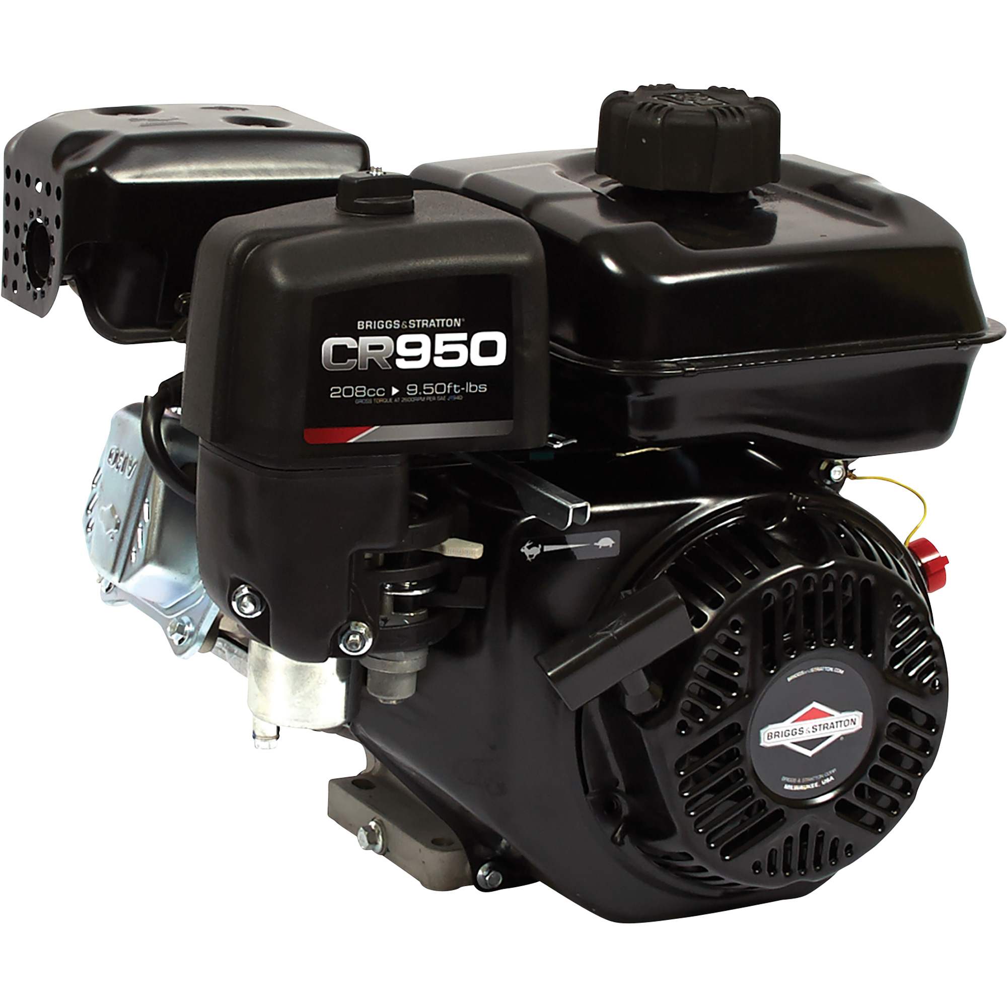 Briggs & Stratton 950 CR Series OHV Horizontal Engine — 208CC, 3/4in  x 2  7/16in  Shaft, Model# 13R232-0001-F1