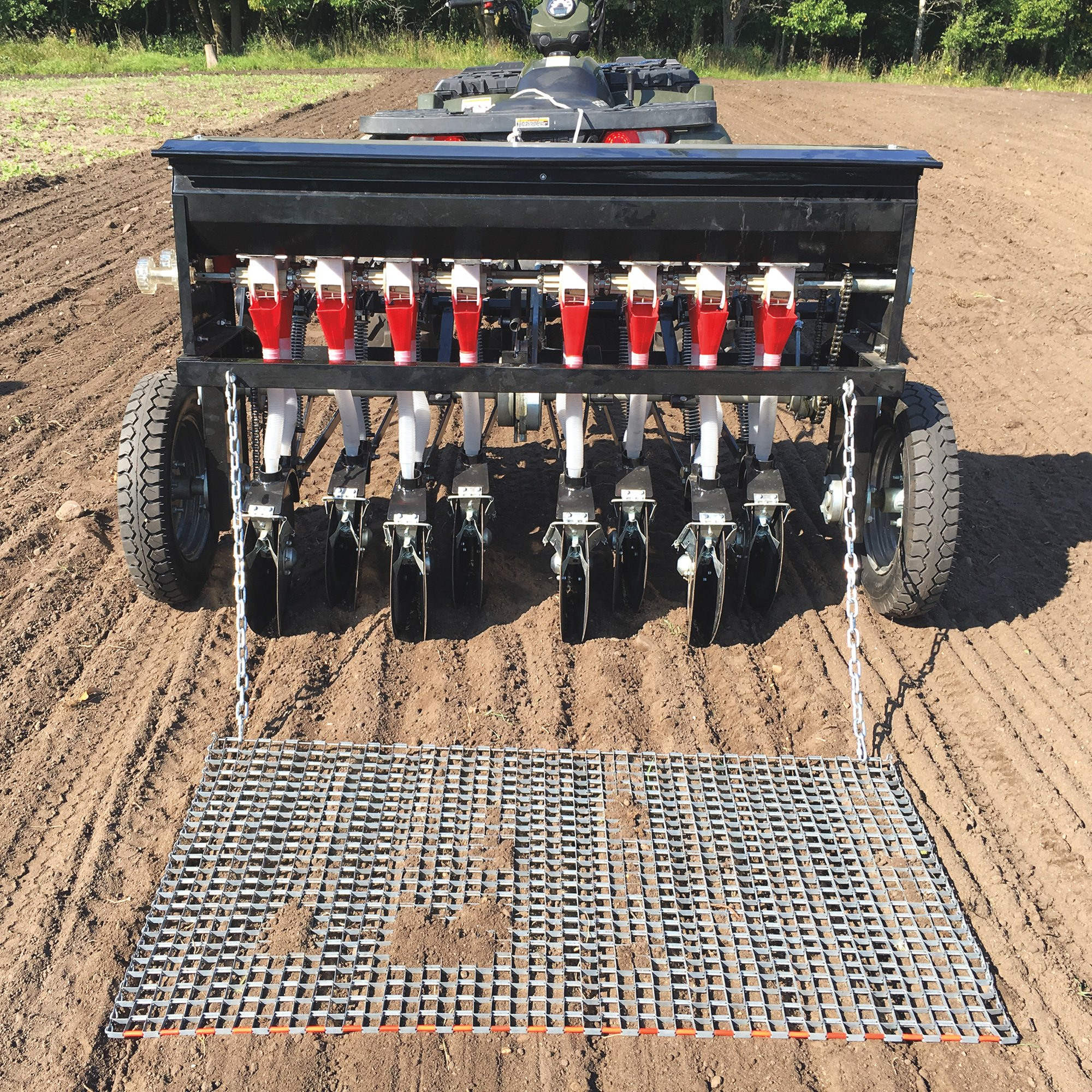 Field Tuff 8 Row Tow Behind Atv Seeder 48in W Model Atv 48atvps